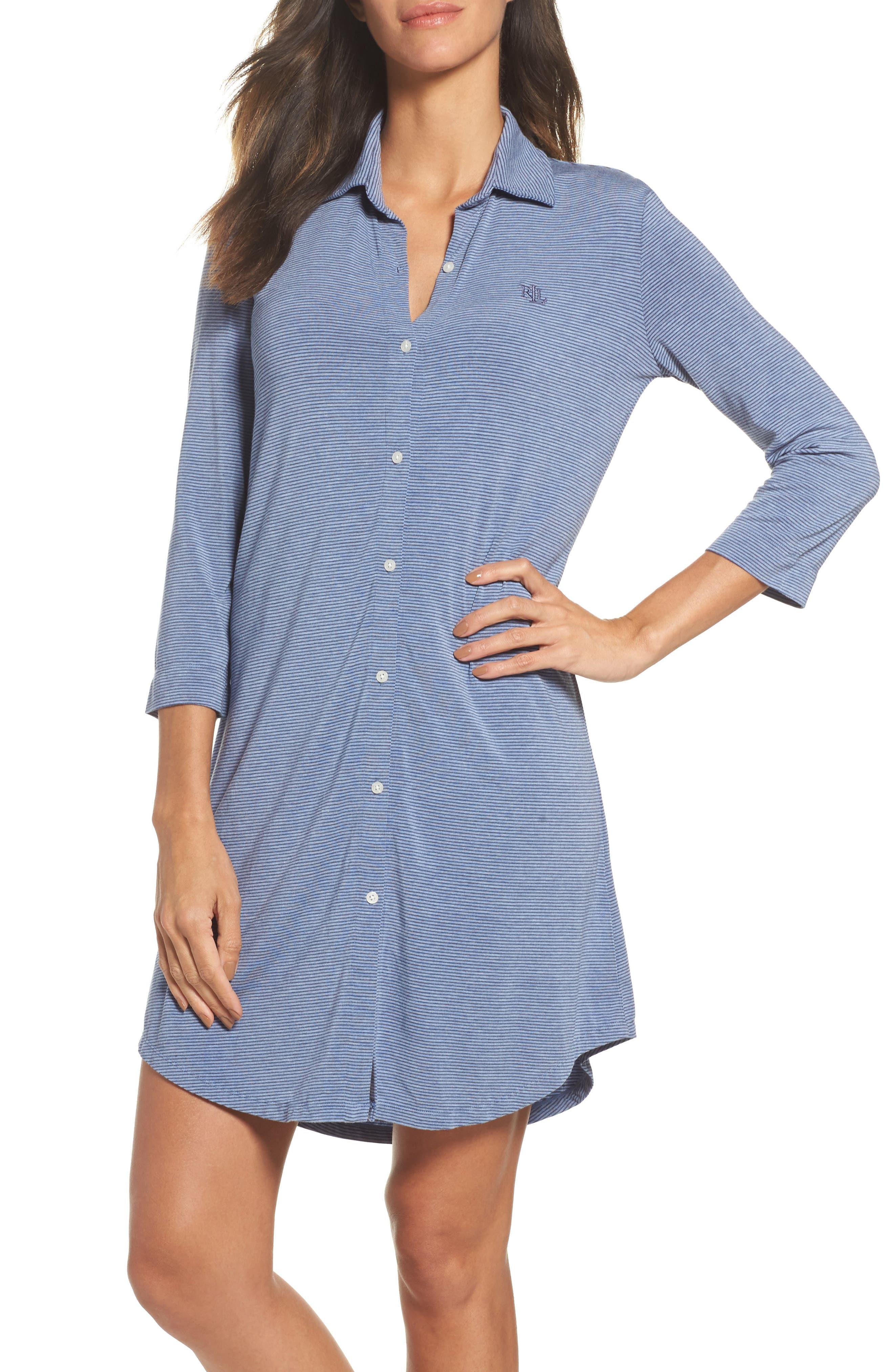 Lauren Ralph Lauren Jersey Sleep Shirt