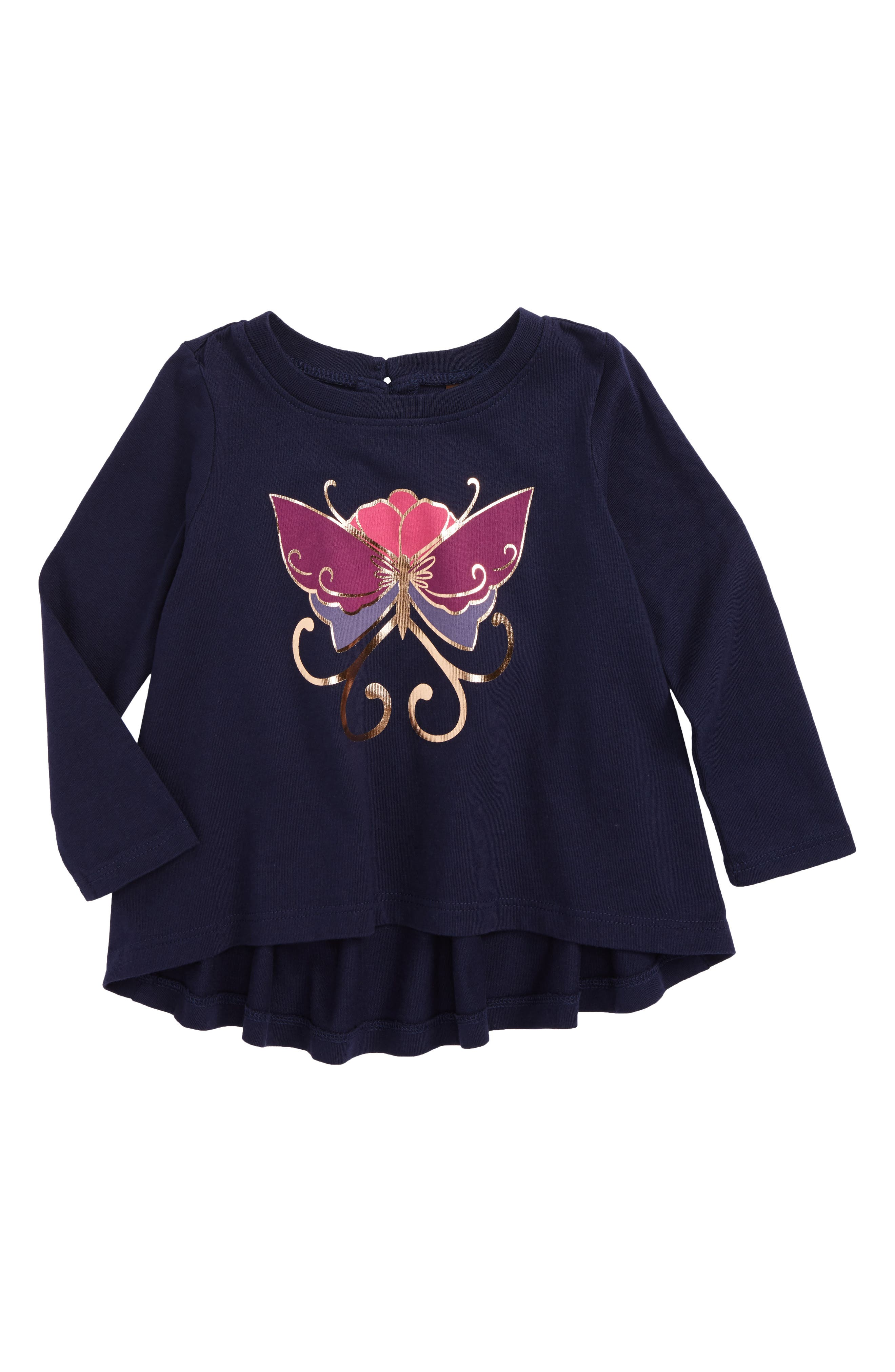 Tea Collection Willowhill Graphic Tee (Baby Girls)