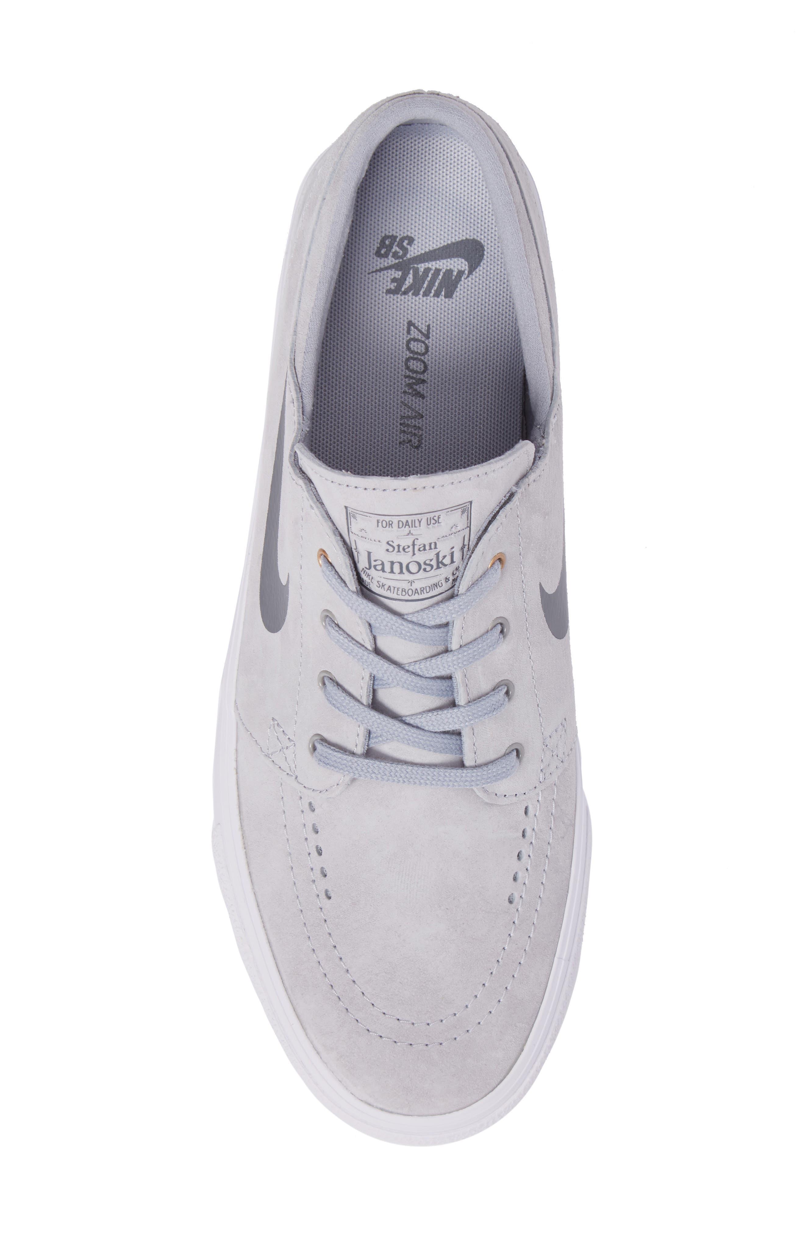Alternate Image 5  - Nike Zoom Stefan Janoski Premium Skate Sneaker (Men)