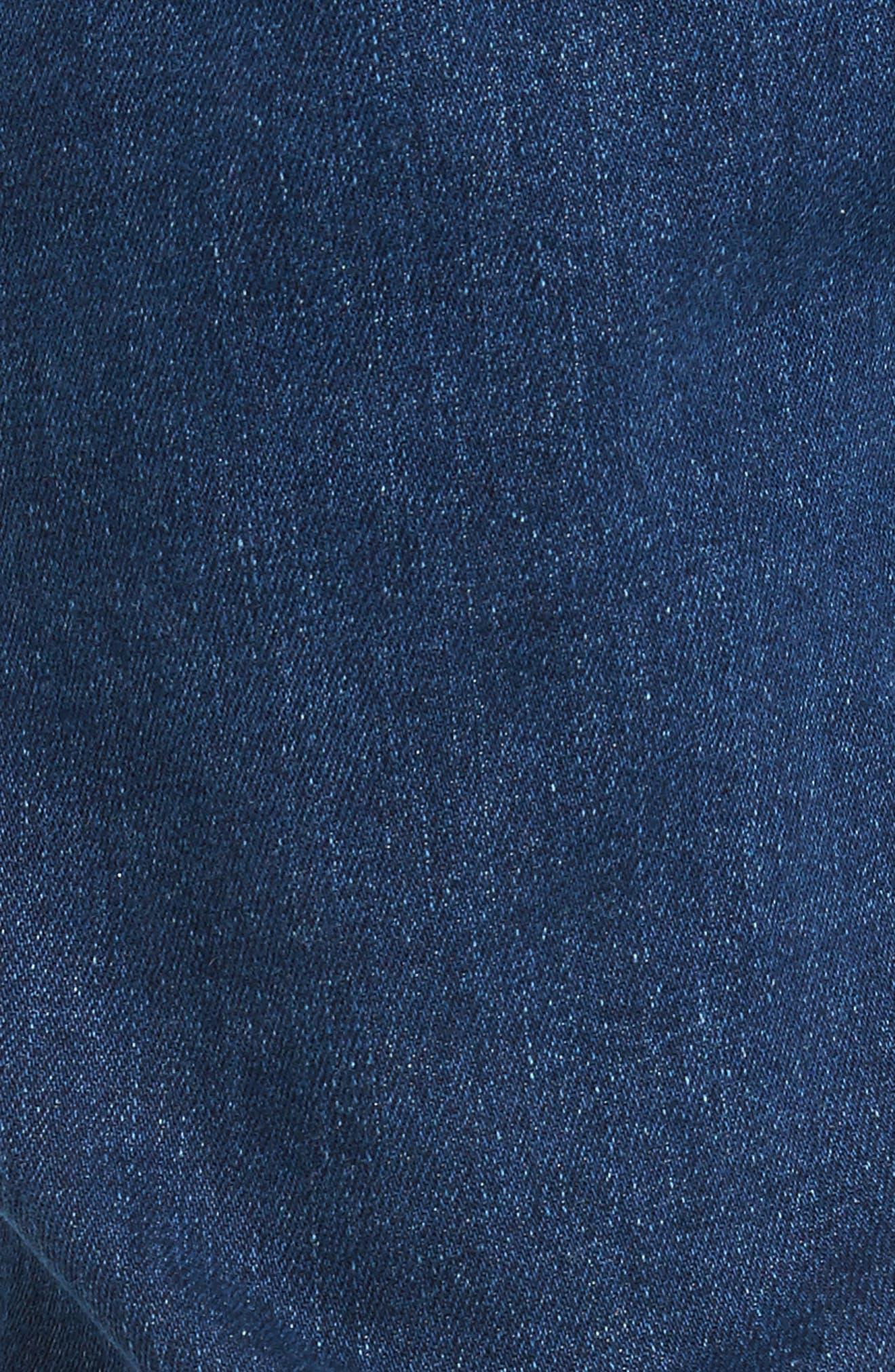 Clark Slim Straight Leg Jeans,                             Alternate thumbnail 5, color,                             Mid Retro