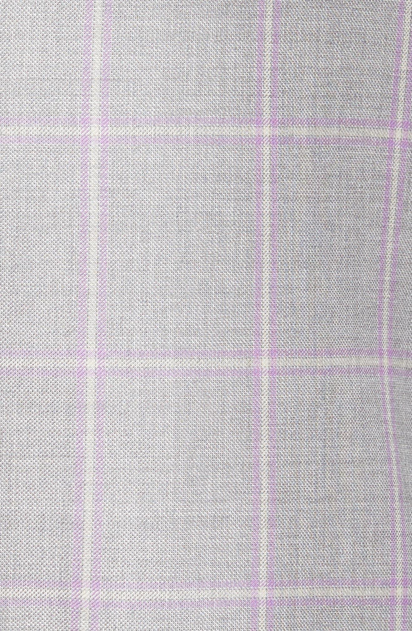 Alternate Image 5  - Hart Schaffner Marx Classic Fit Windowpane Wool Sport Coat