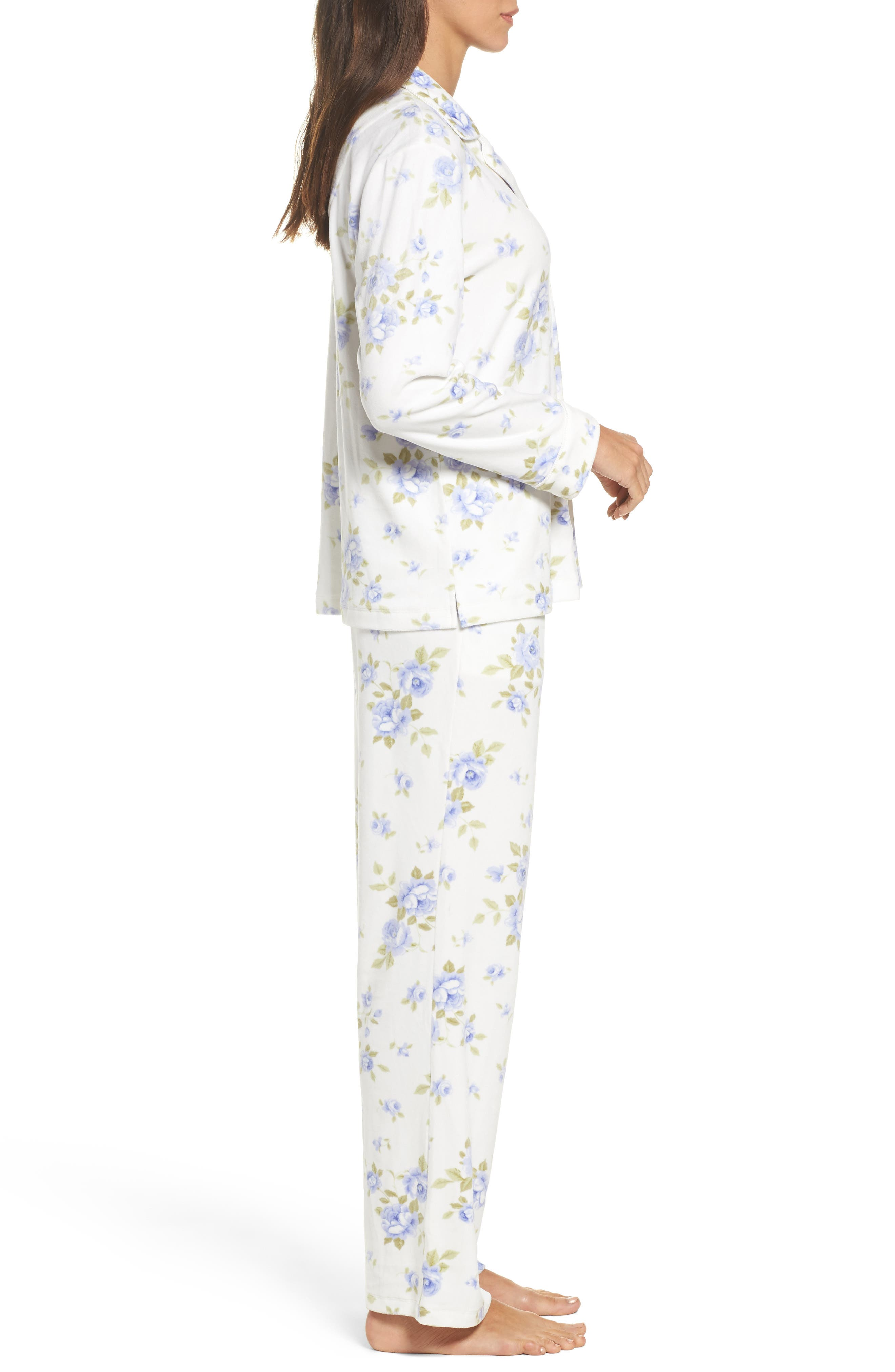 Alternate Image 3  - Carole Hochman Fleece Pajamas