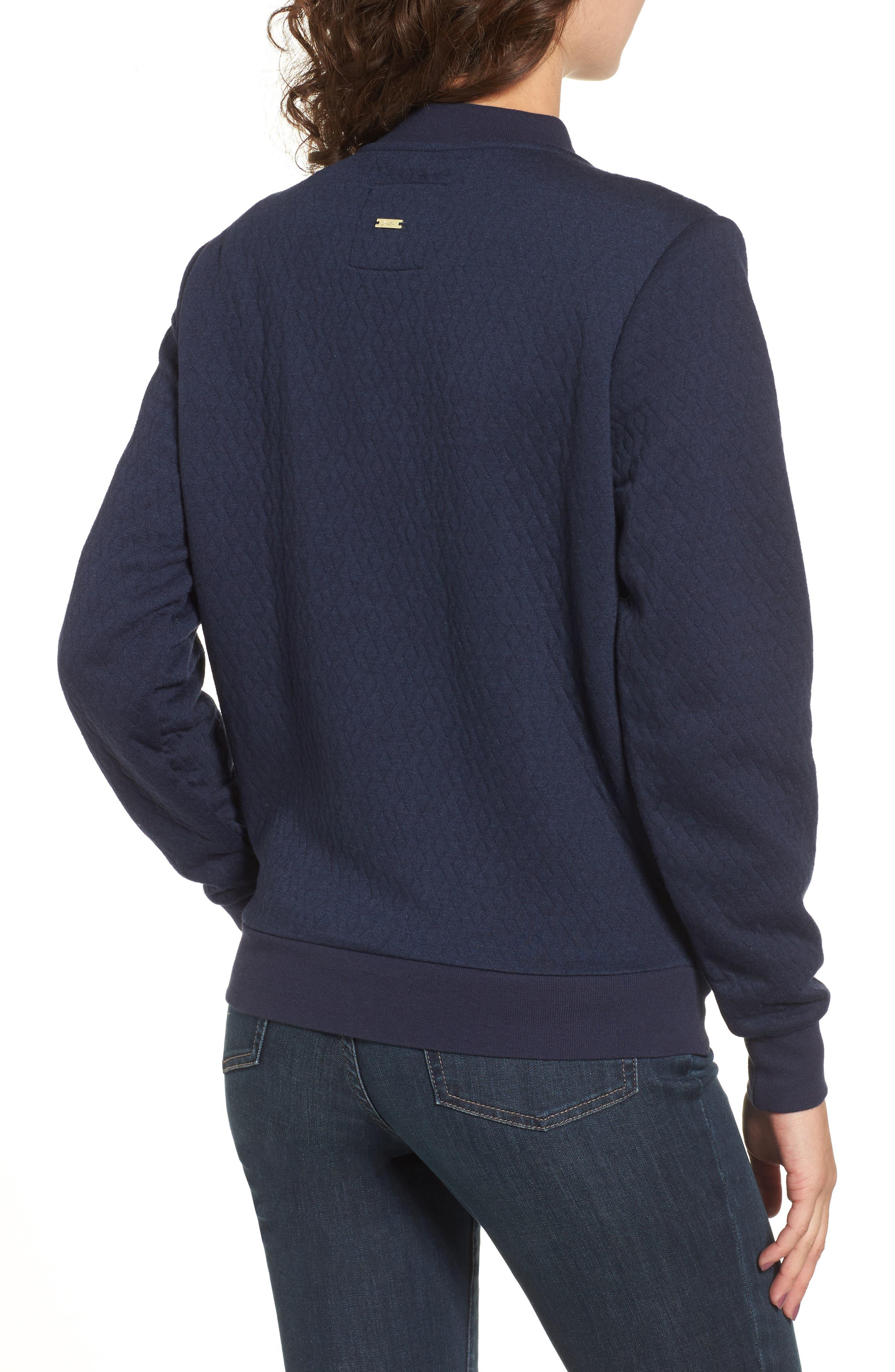 Alternate Image 2  - Joules Millie Bomber Sweatshirt Jacket