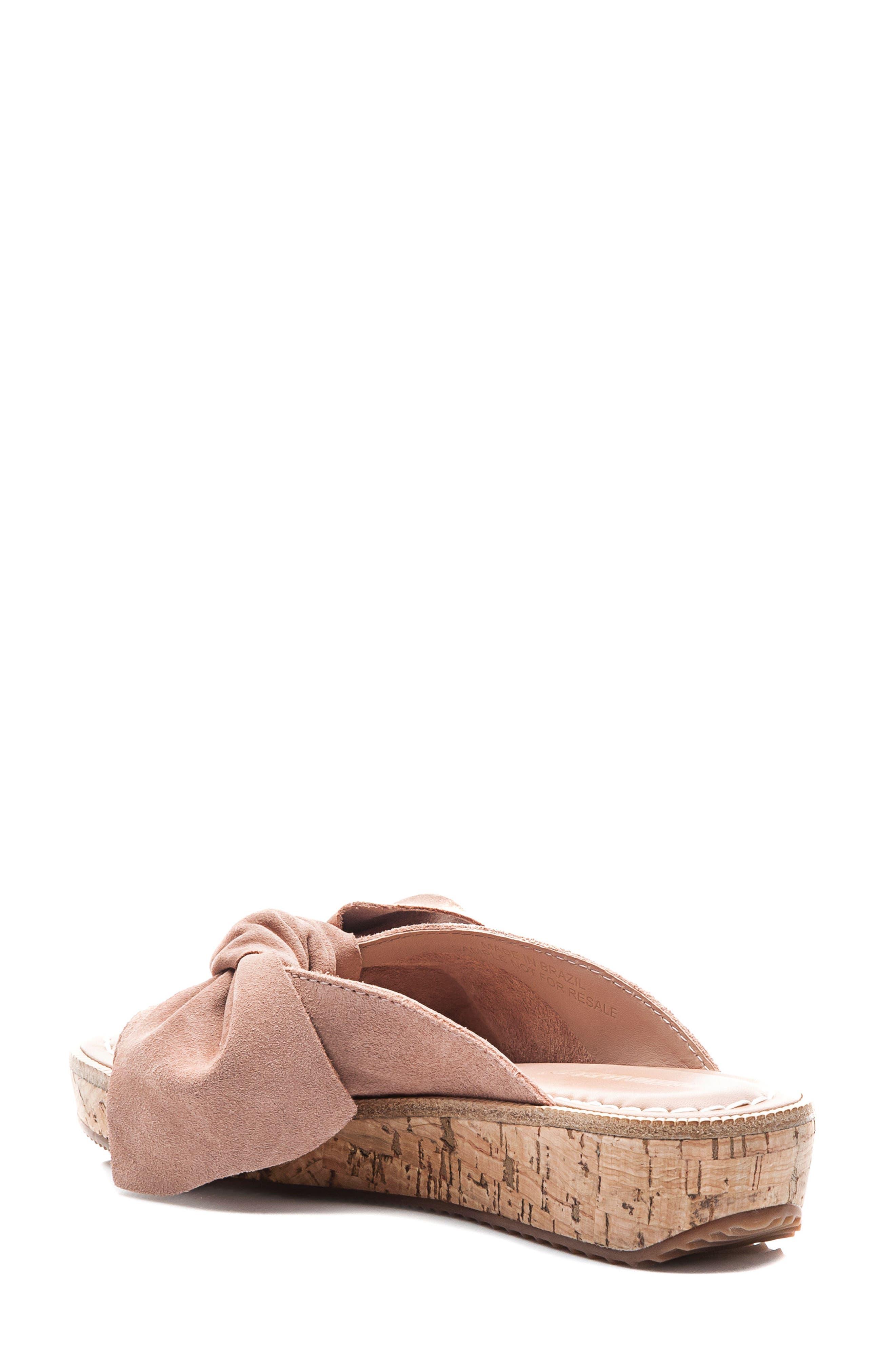 Bernardo Petra Slide Sandal,                             Alternate thumbnail 2, color,                             Blush Leather