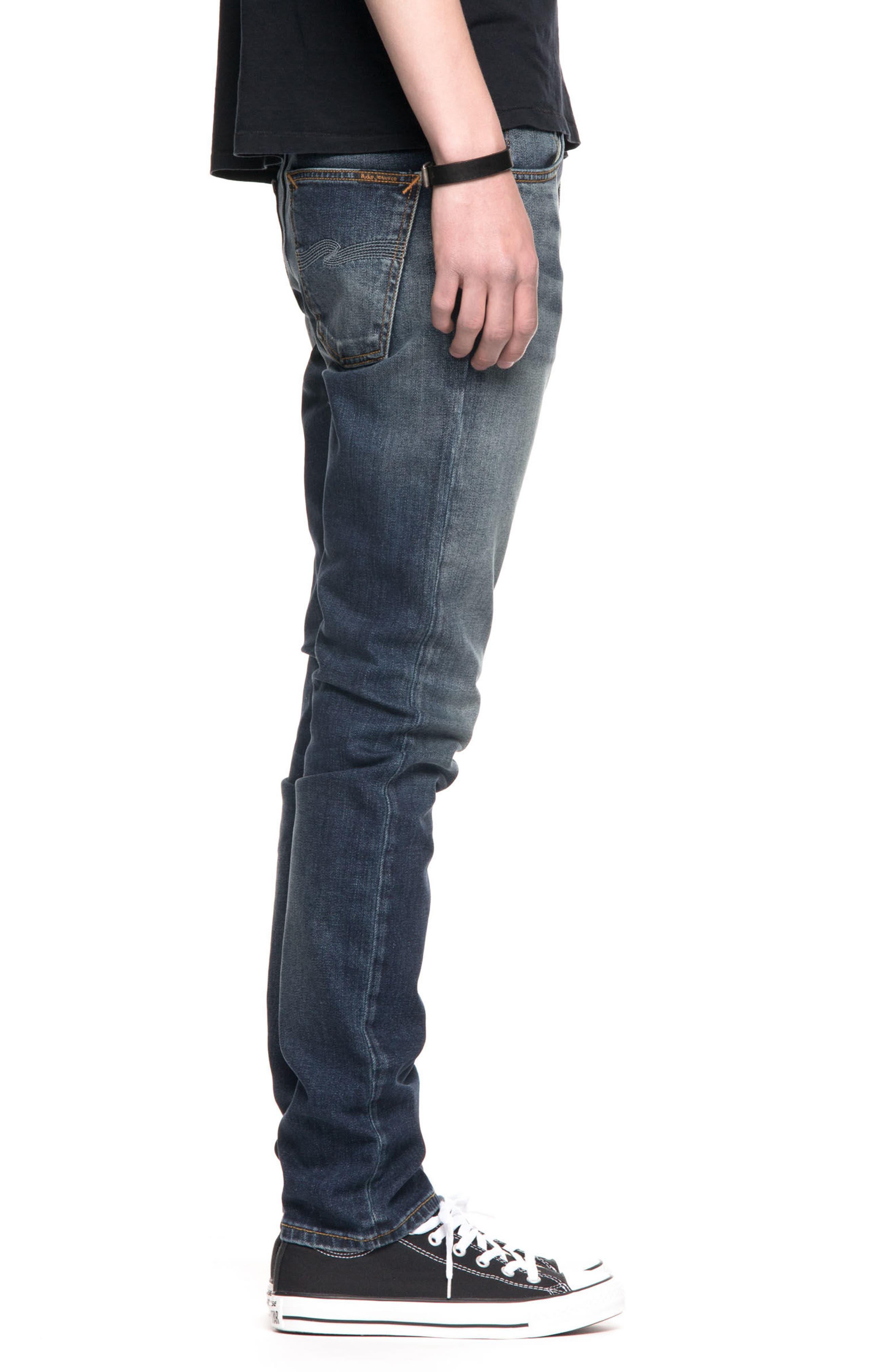 Lean Dean Slouchy Slim Fit Jeans,                             Alternate thumbnail 3, color,                             Crispy Bora