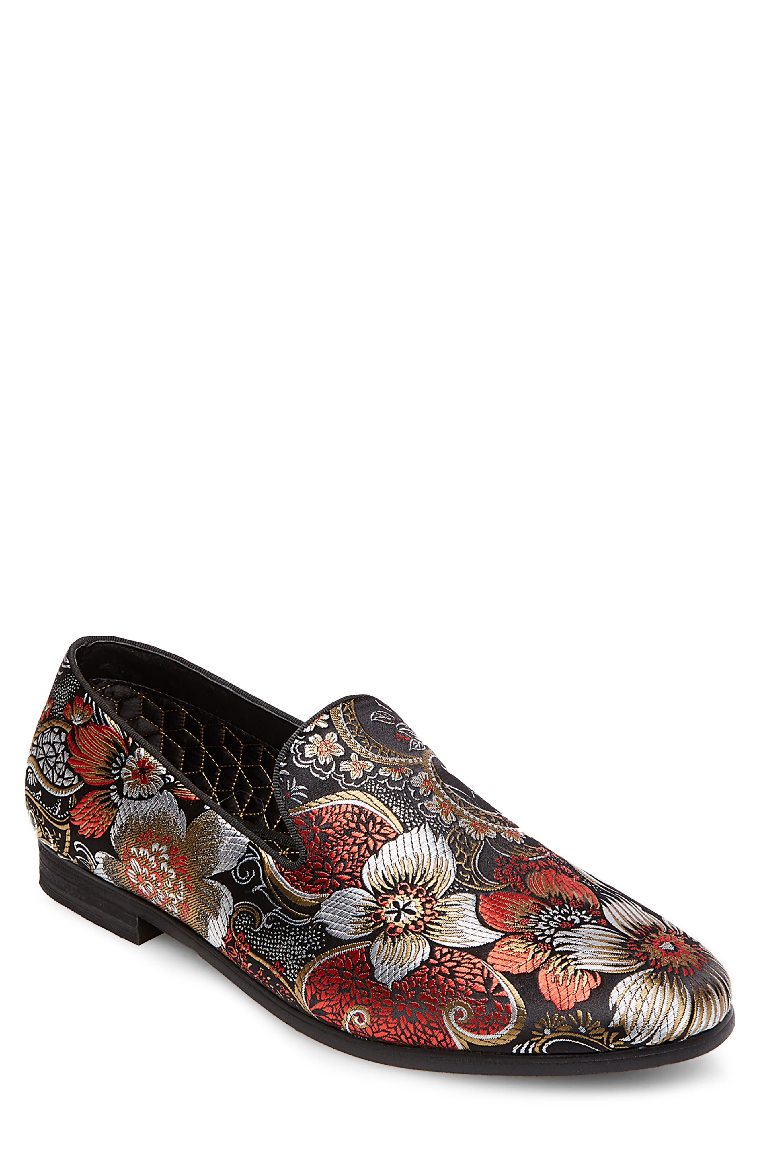 Cypress Venetian Loafer,                             Main thumbnail 1, color,                             Red Multi