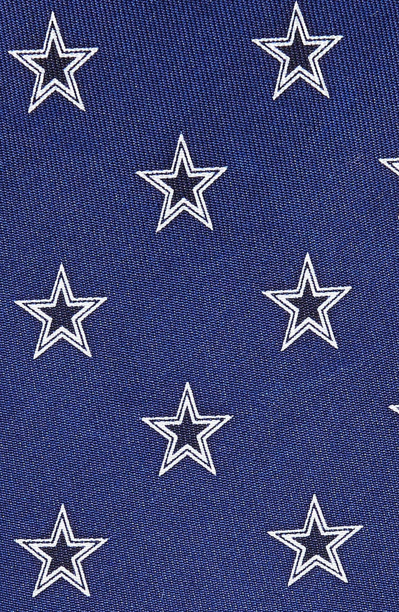 Dallas Cowboys Silk Tie,                             Alternate thumbnail 2, color,                             Navy