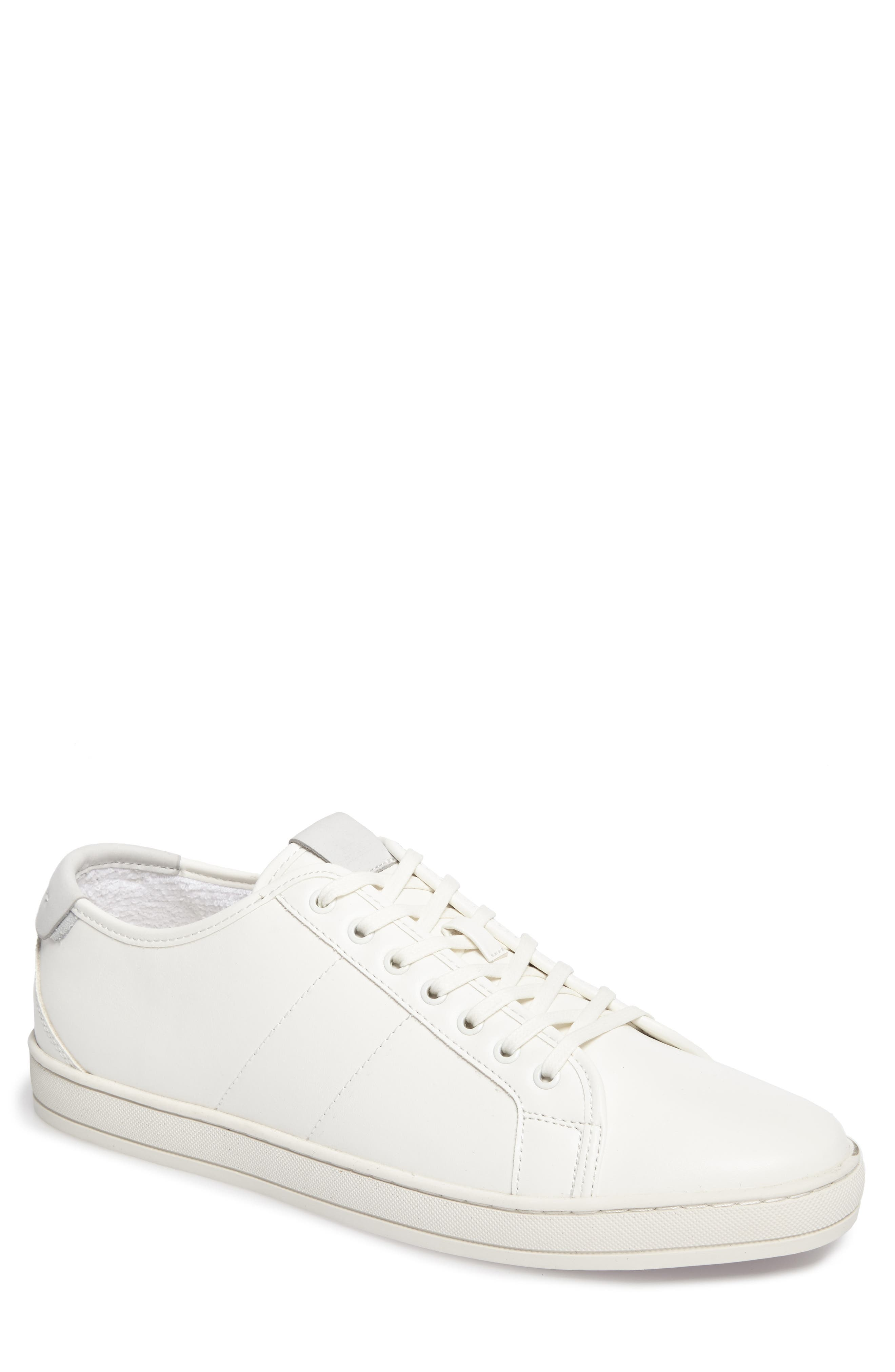 Delello Low-Top Sneaker,                             Main thumbnail 1, color,                             White