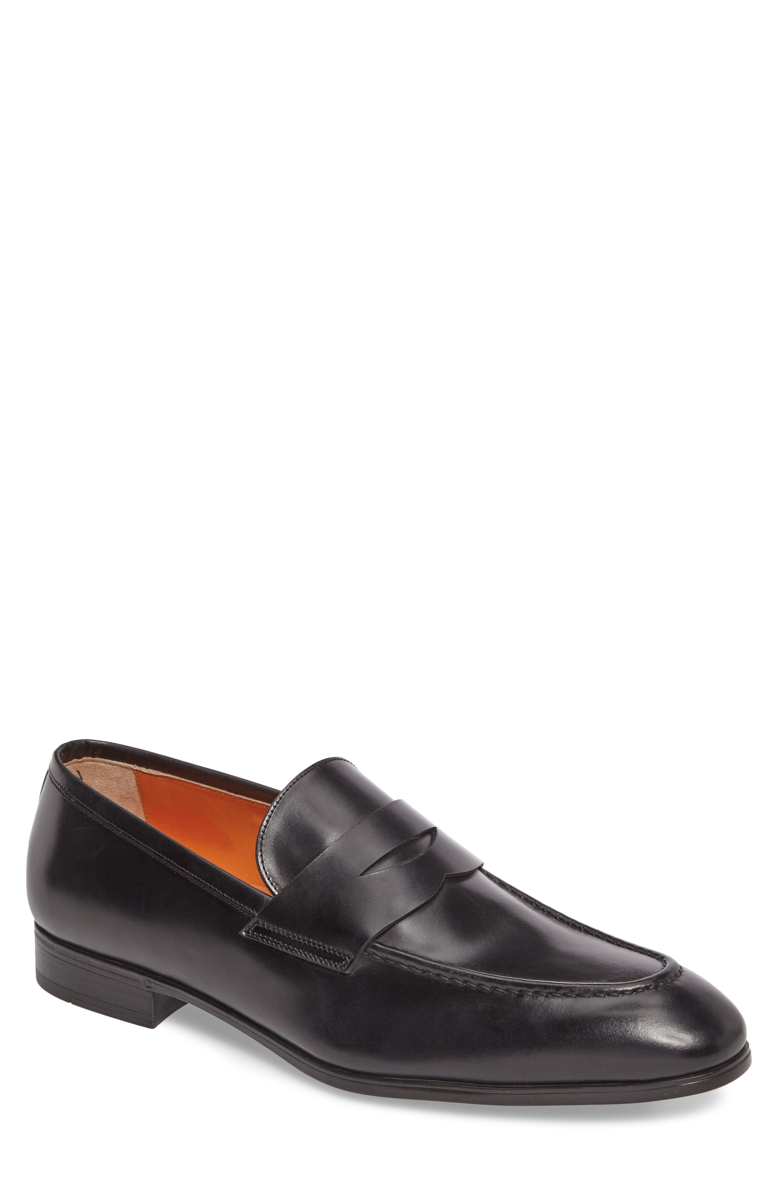 Gavin Penny Loafer,                             Main thumbnail 1, color,                             Black