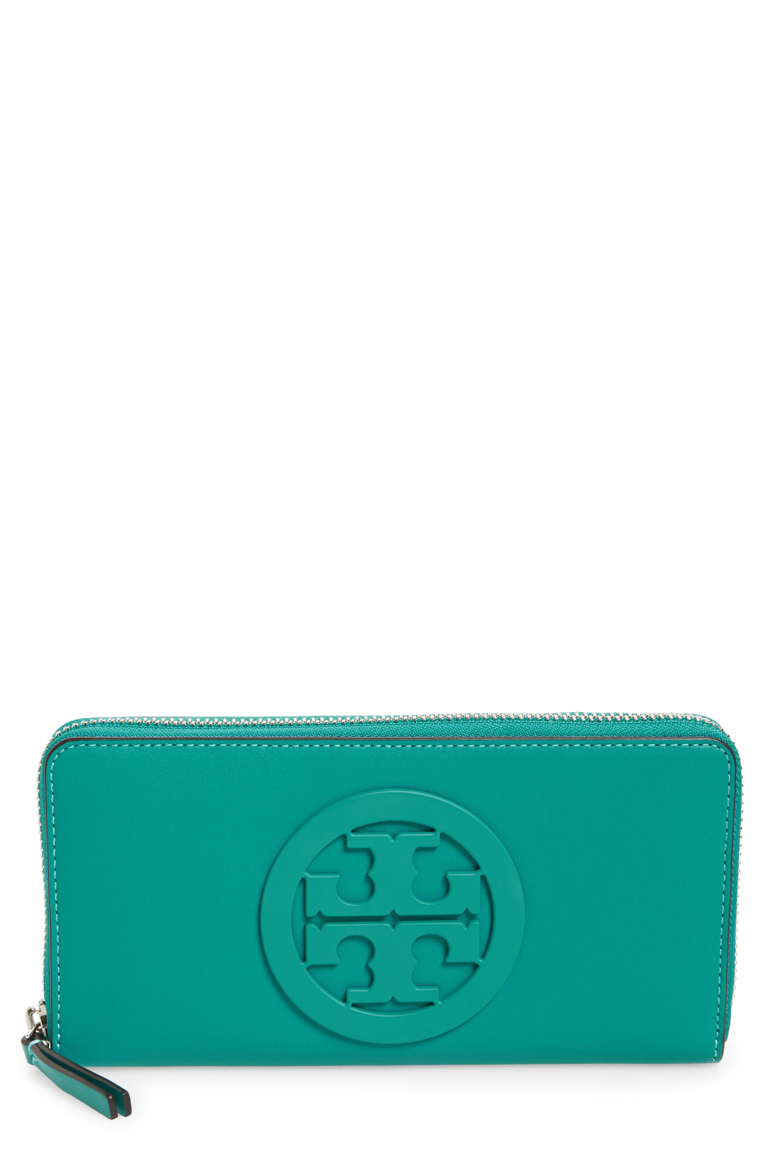Tory Burch Charlie Leather Continental Wallet
