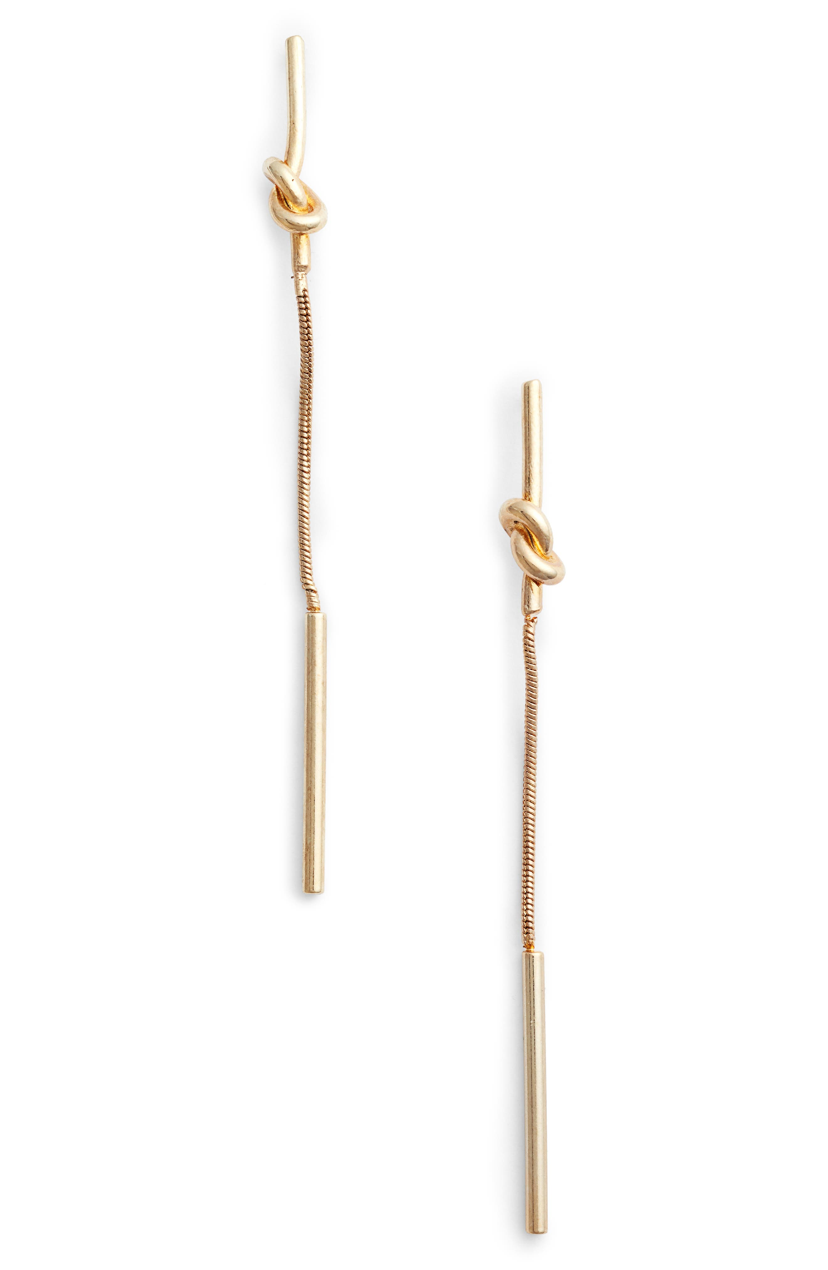 Jules Smith Python Knot Linear Earrings