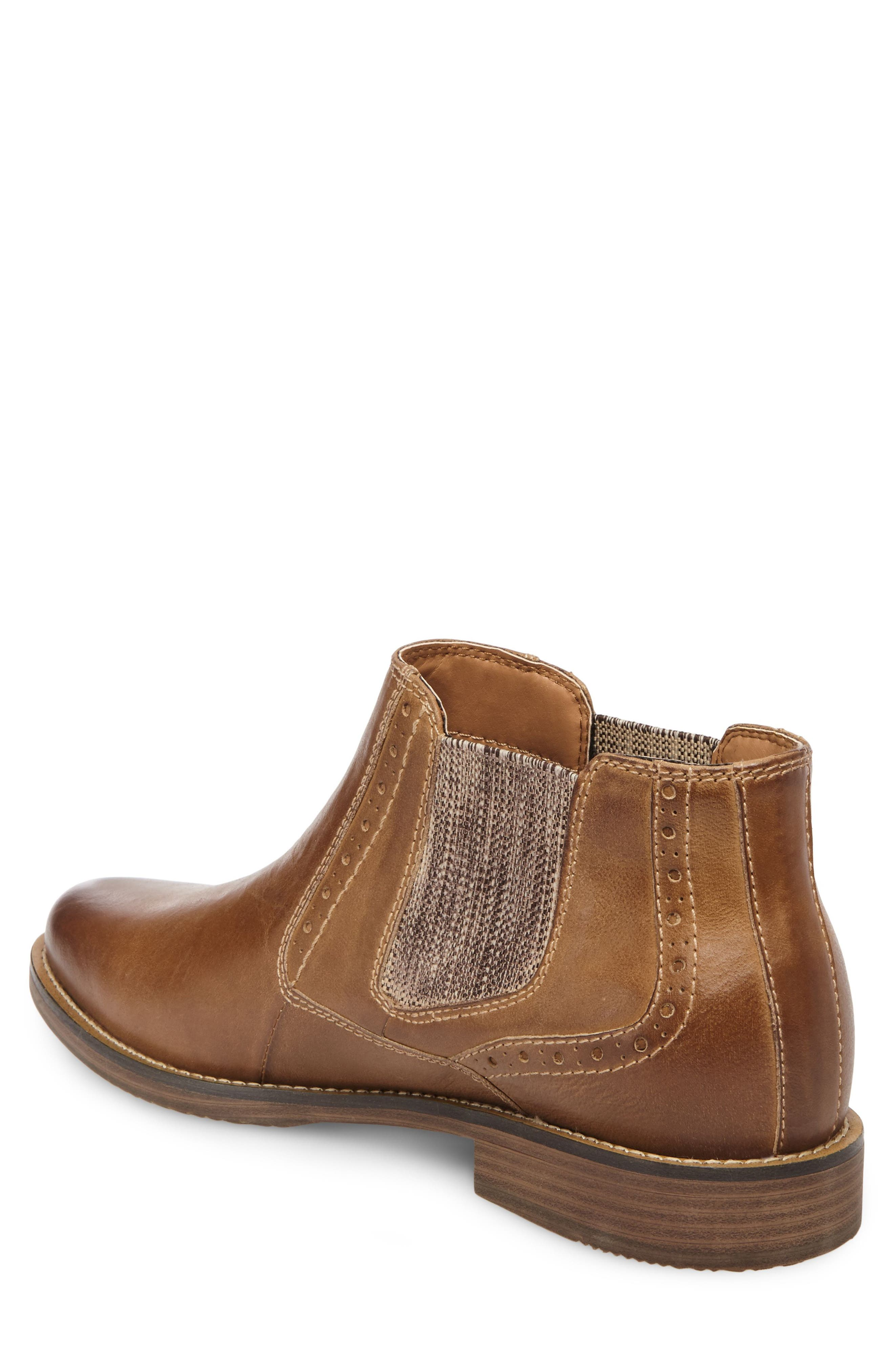 Paxton Chelsea Boot,                             Alternate thumbnail 2, color,                             Camel Leather