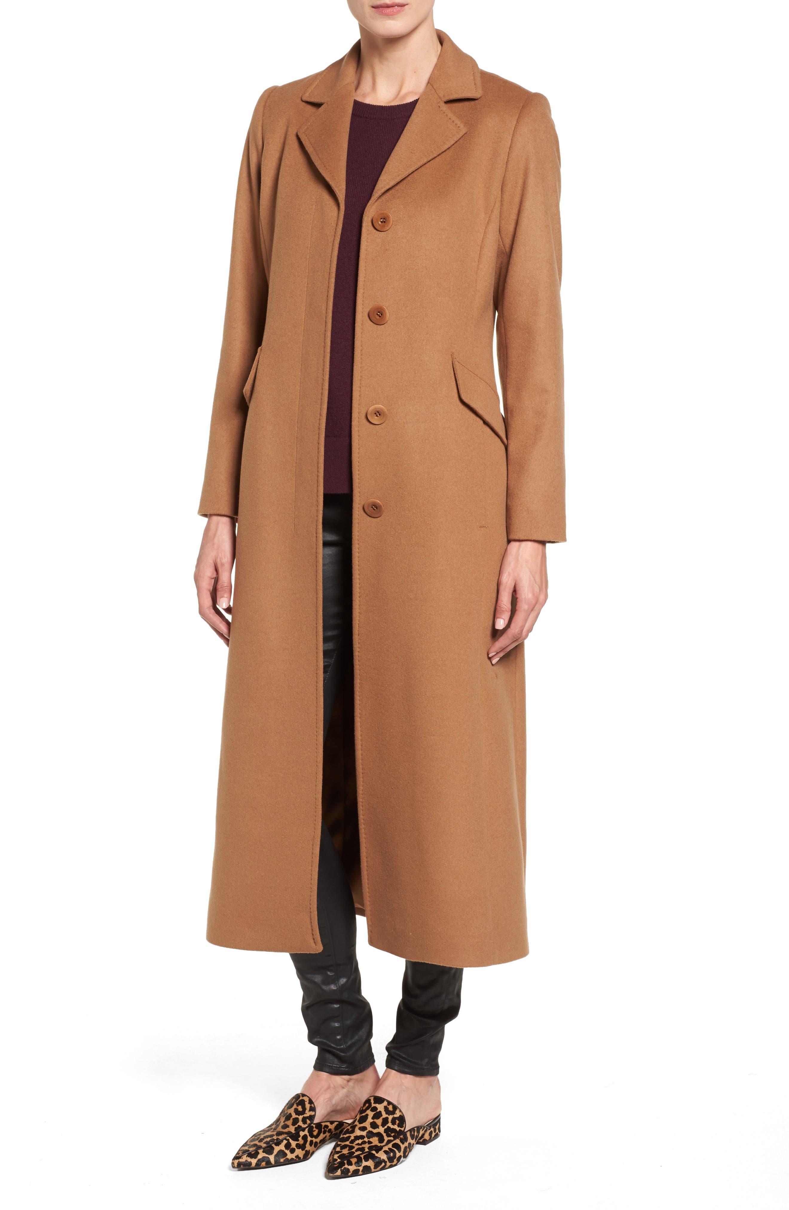 Emi Wool Blend Coat,                         Main,                         color, Camel
