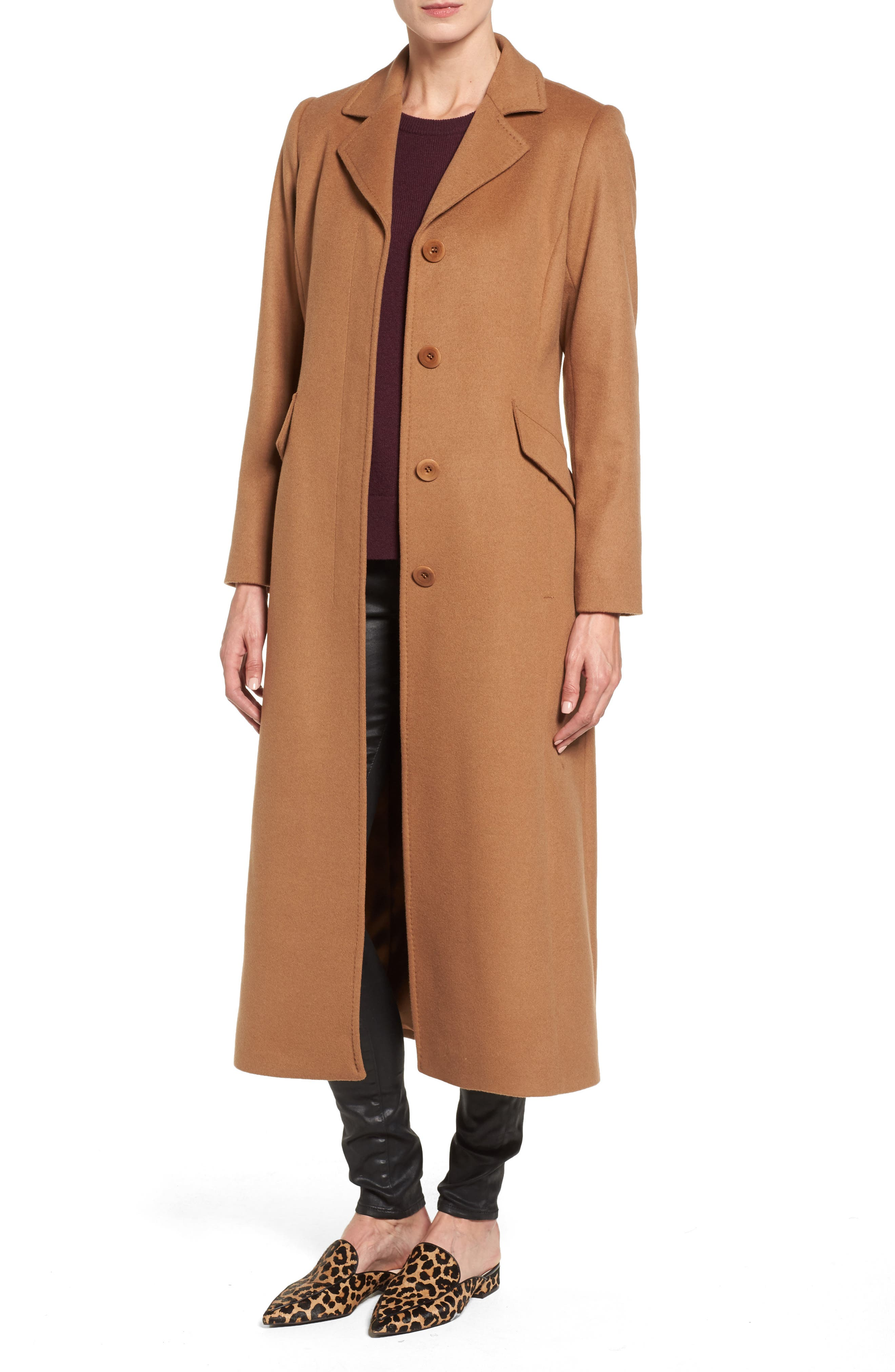 trina Trina Turk Emi Wool Blend Coat