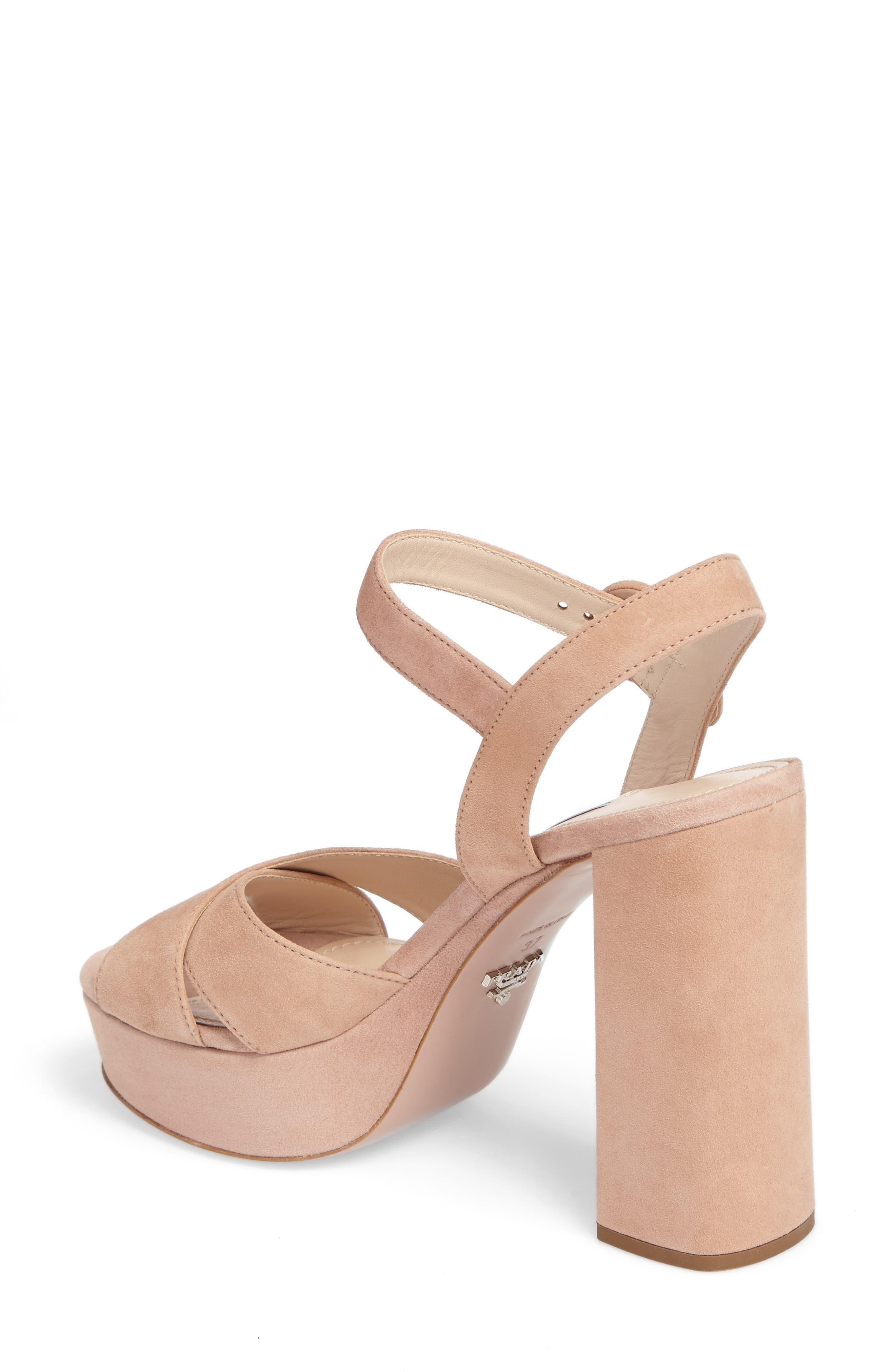 Alternate Image 2  - Prada Block Heel Platform Sandal (Women)