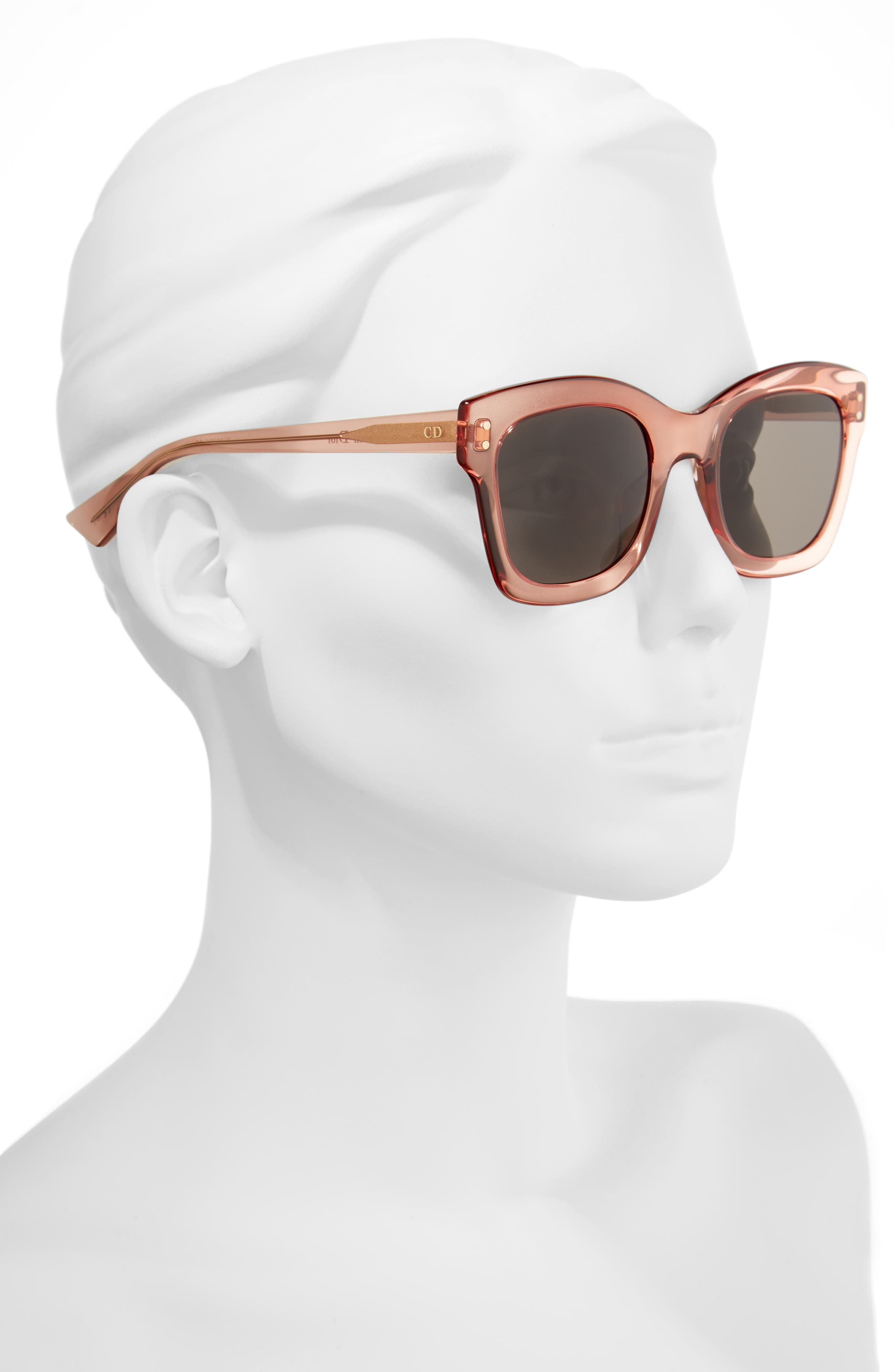Alternate Image 2  - Dior Izon 51mm Sunglasses