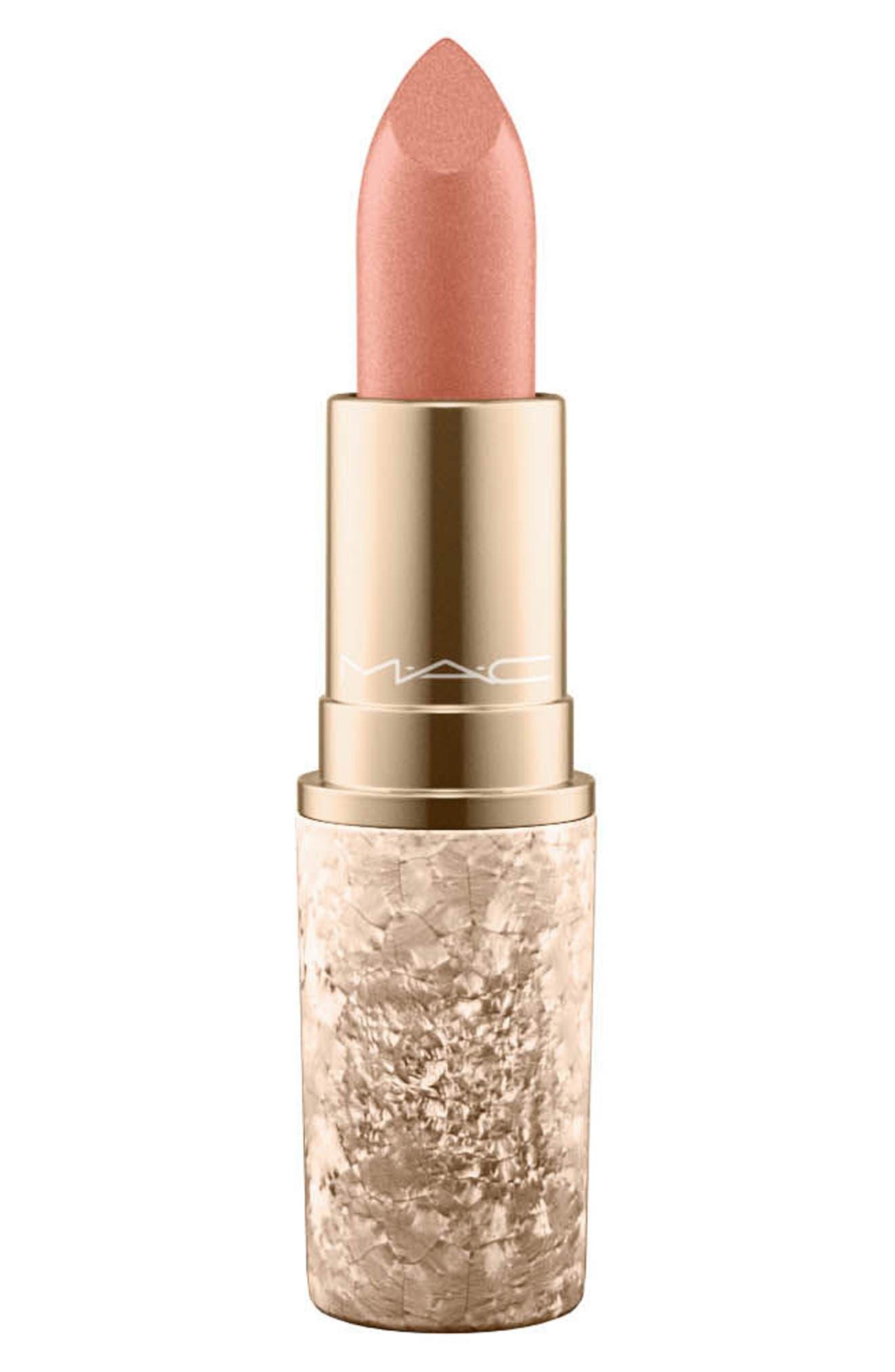 MAC Snow Ball Lipstick,                         Main,                         color, Holiday Crush