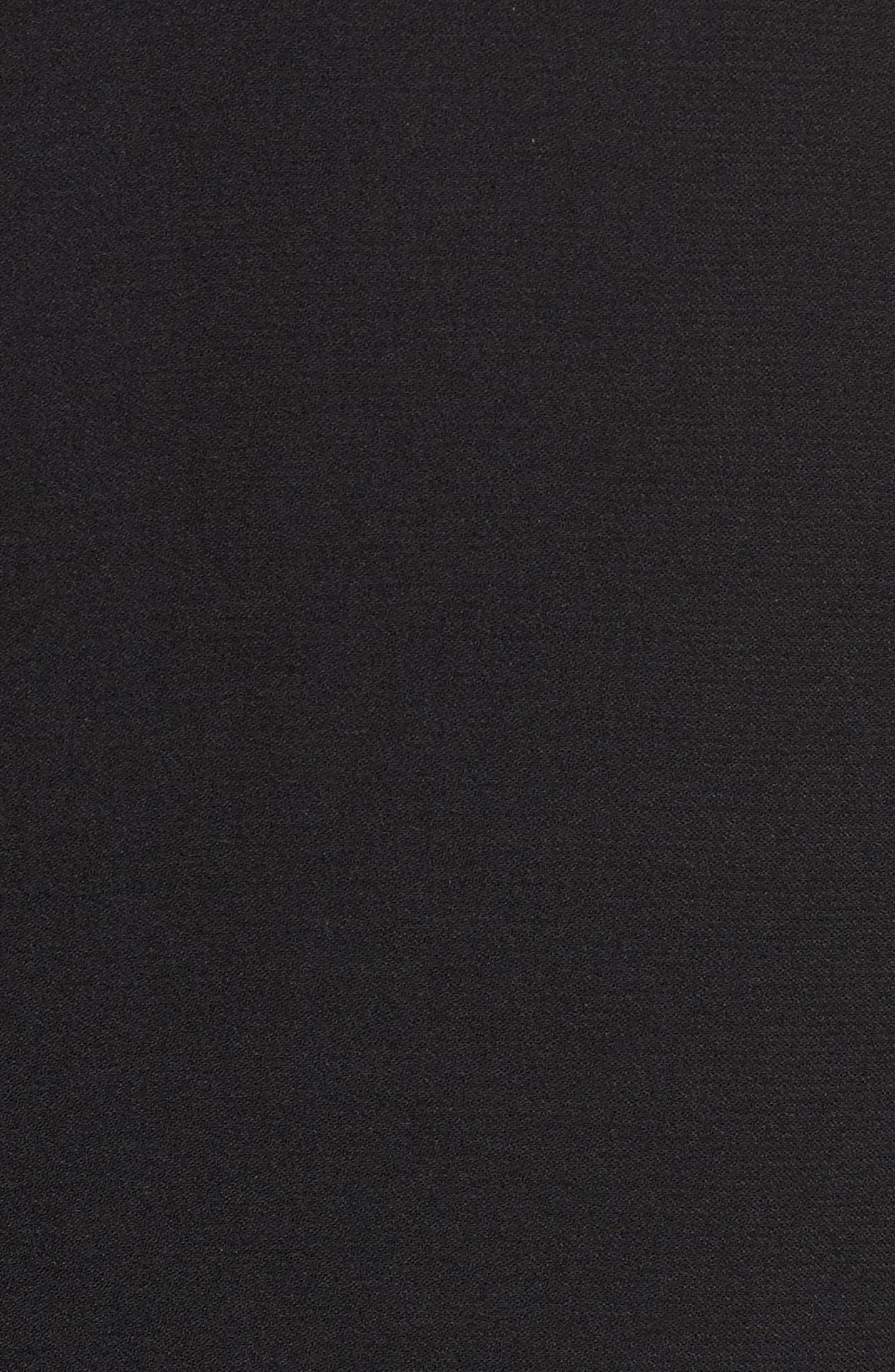 Shawl Collar Blazer,                             Alternate thumbnail 5, color,                             Black