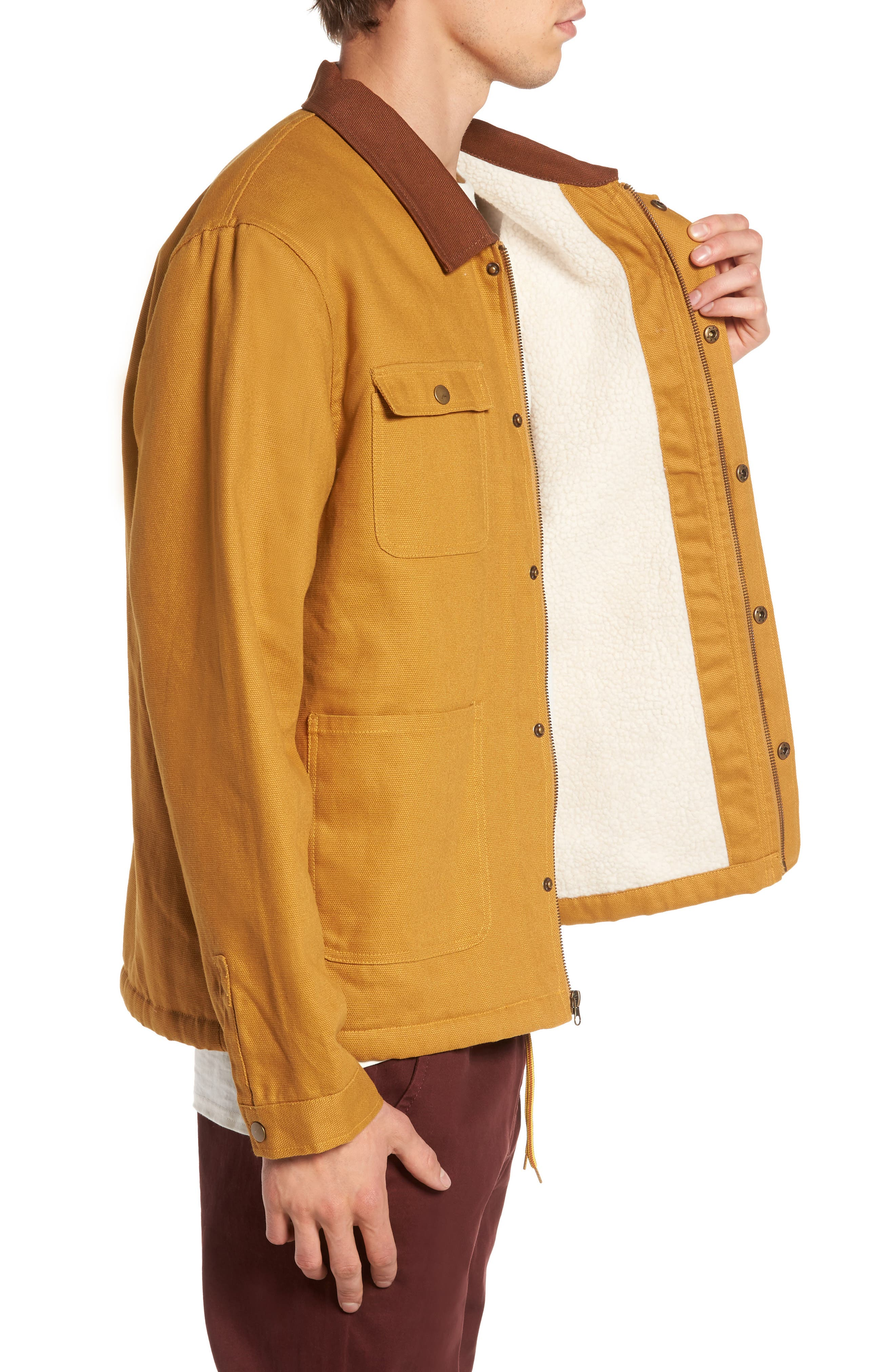Chandler Jacket,                             Alternate thumbnail 3, color,                             Khaki