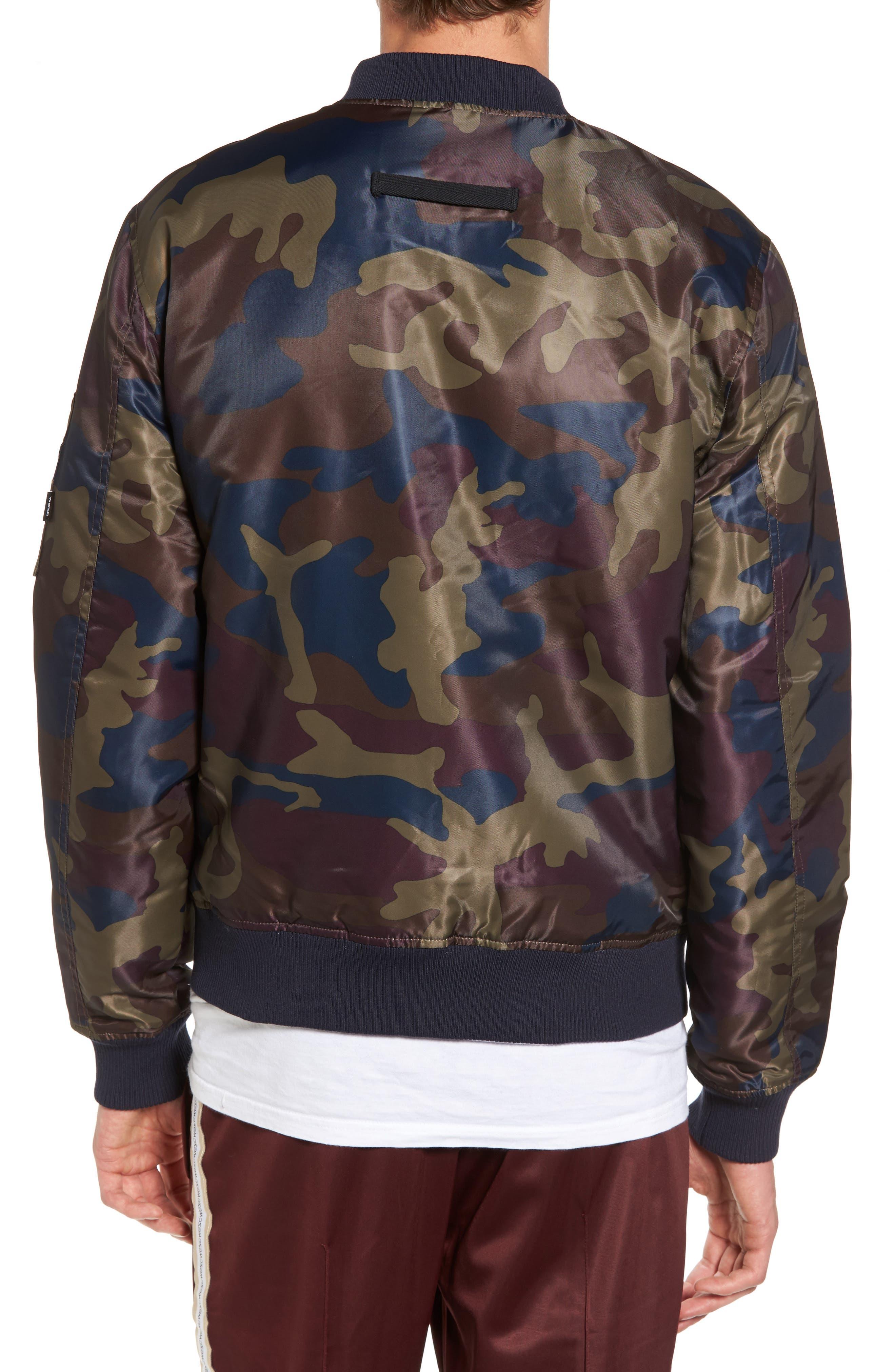 Alternate Image 2  - WeSC The Camo Bomber Jacket