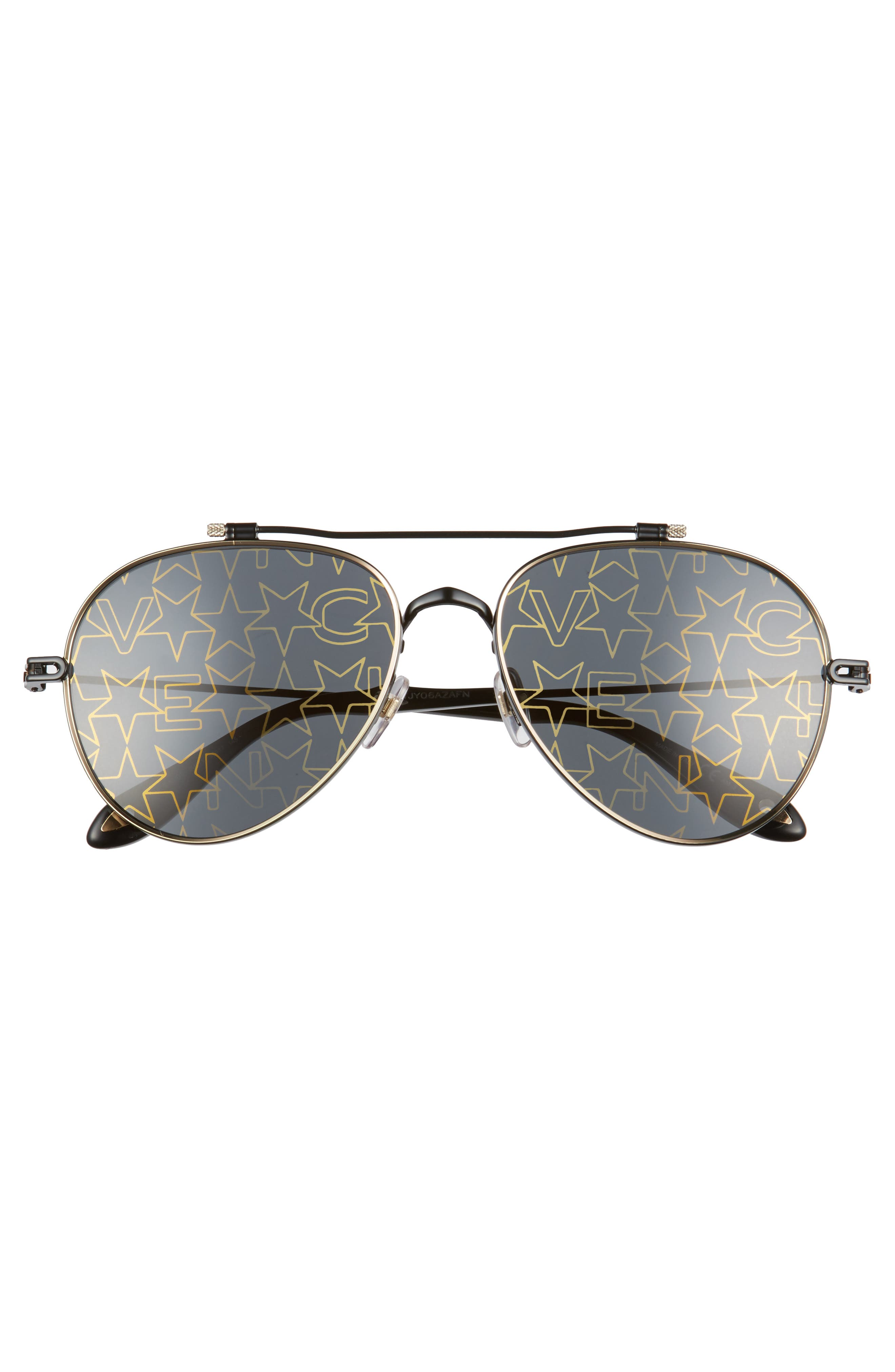 Alternate Image 2  - Givenchy 58mm Aviator Sunglasses