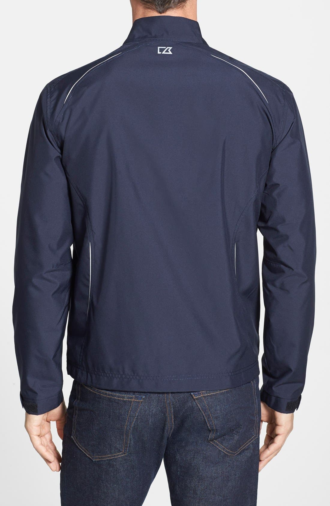 Tennessee Titans - Beacon WeatherTec Wind & Water Resistant Jacket,                             Alternate thumbnail 2, color,                             Navy Blue