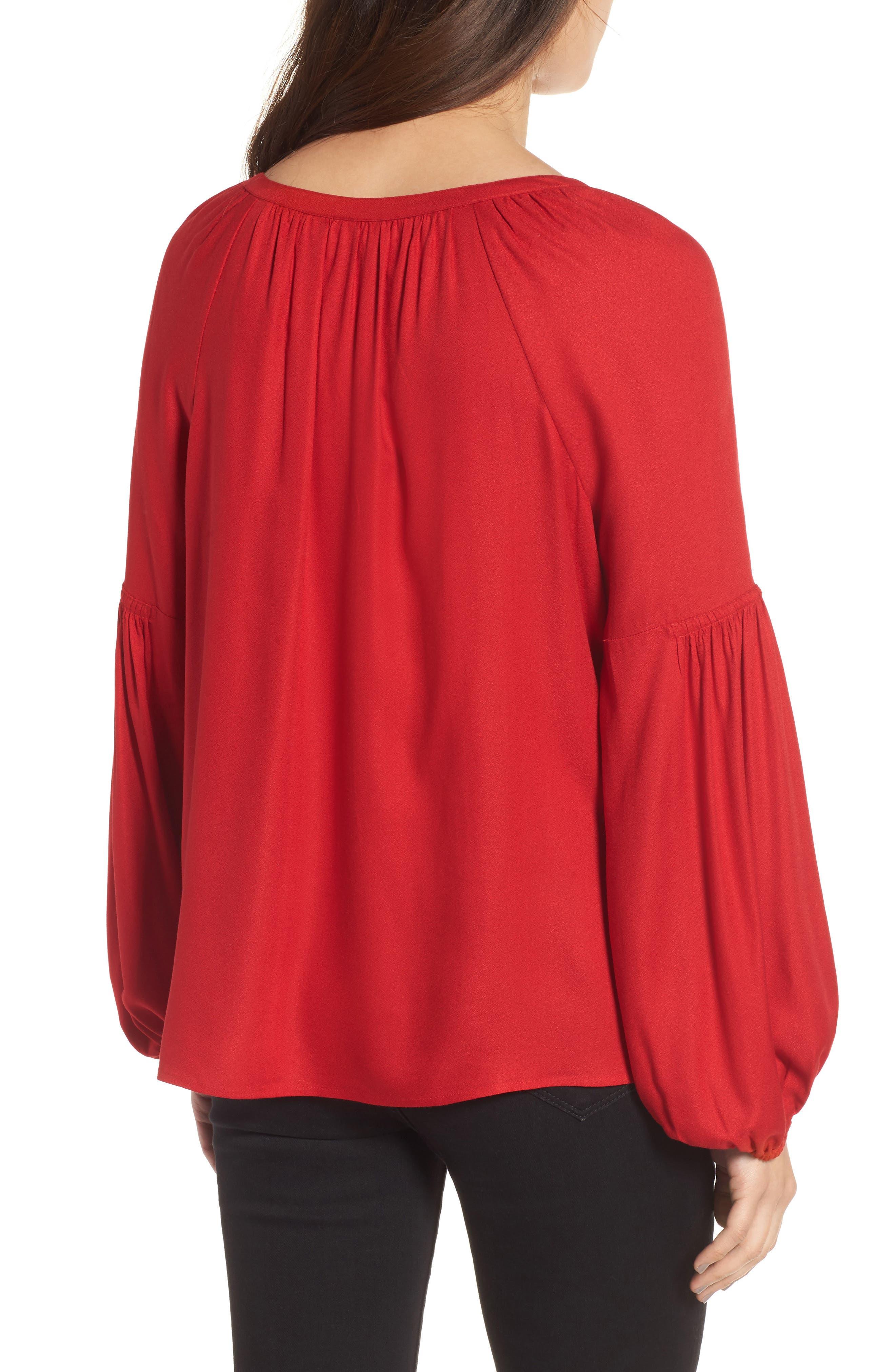 Alternate Image 2  - Hinge Blouson Sleeve Top