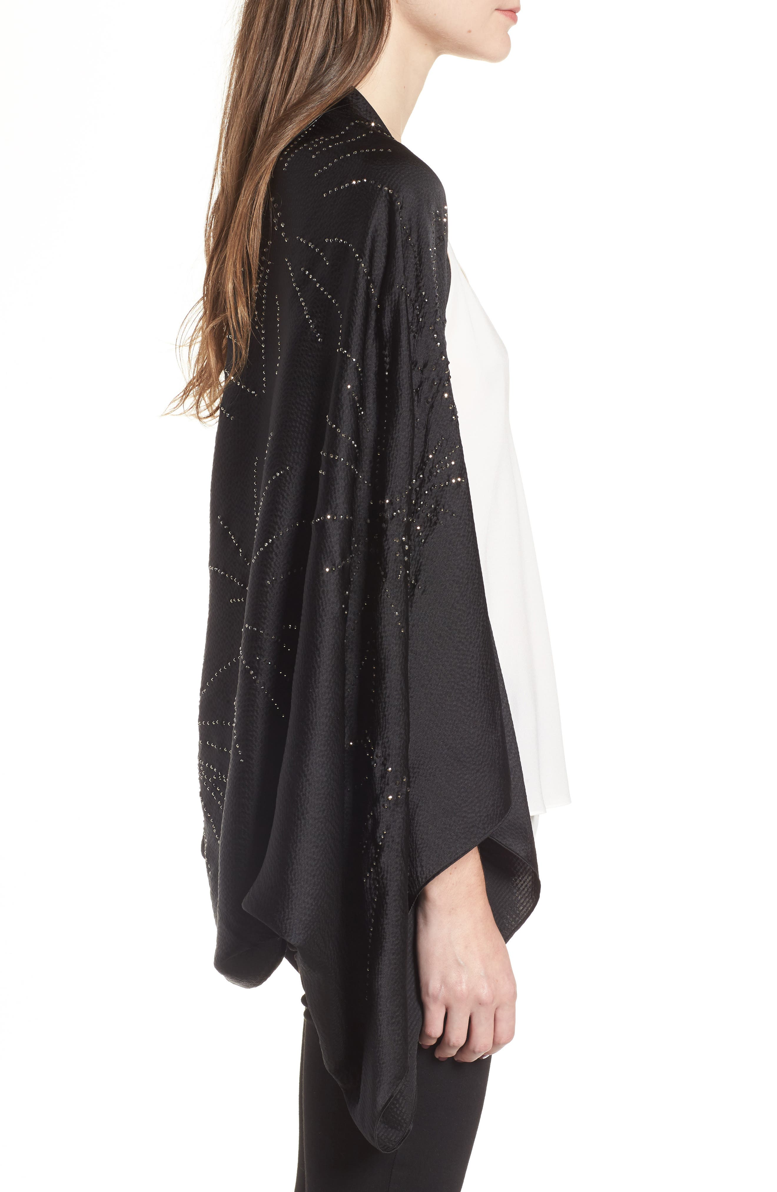 Alternate Image 3  - Ted Baker London Stardust Silk Cape Scarf