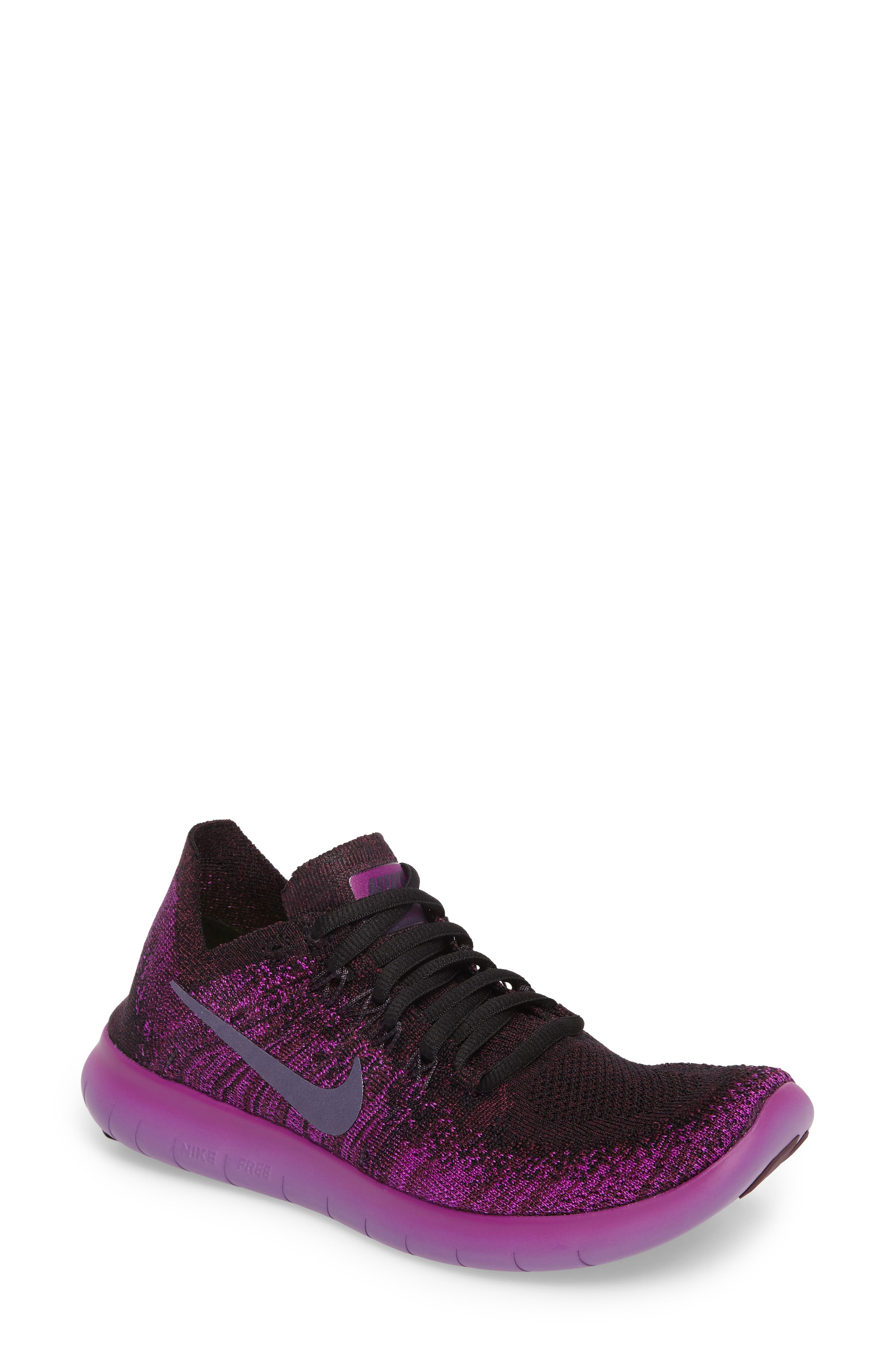 Alternate Image 1 Selected - Nike Free Run Flyknit 2 Running Shoe (Women)