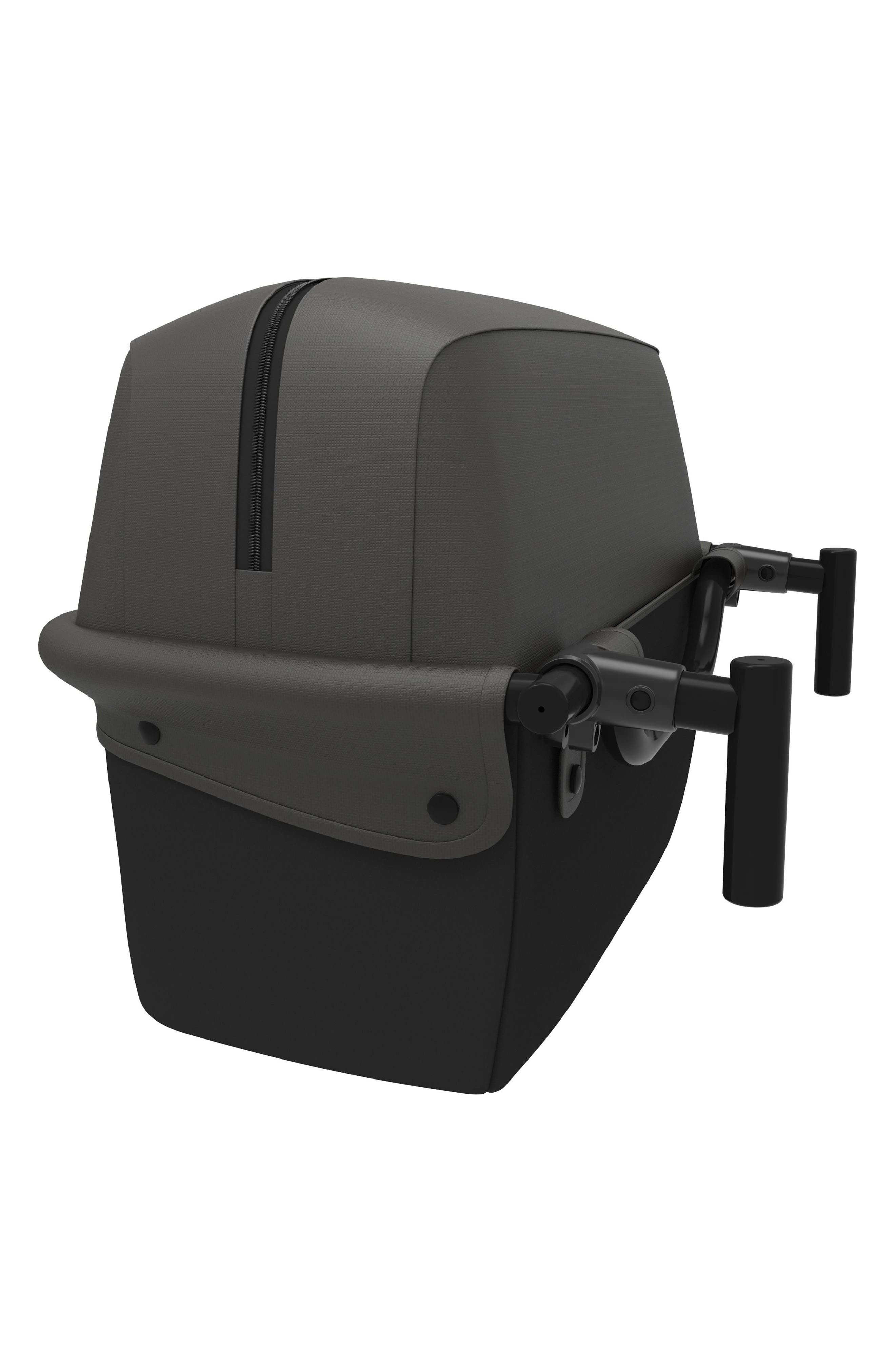 Foldable Storage Basket,                             Alternate thumbnail 5, color,                             Black