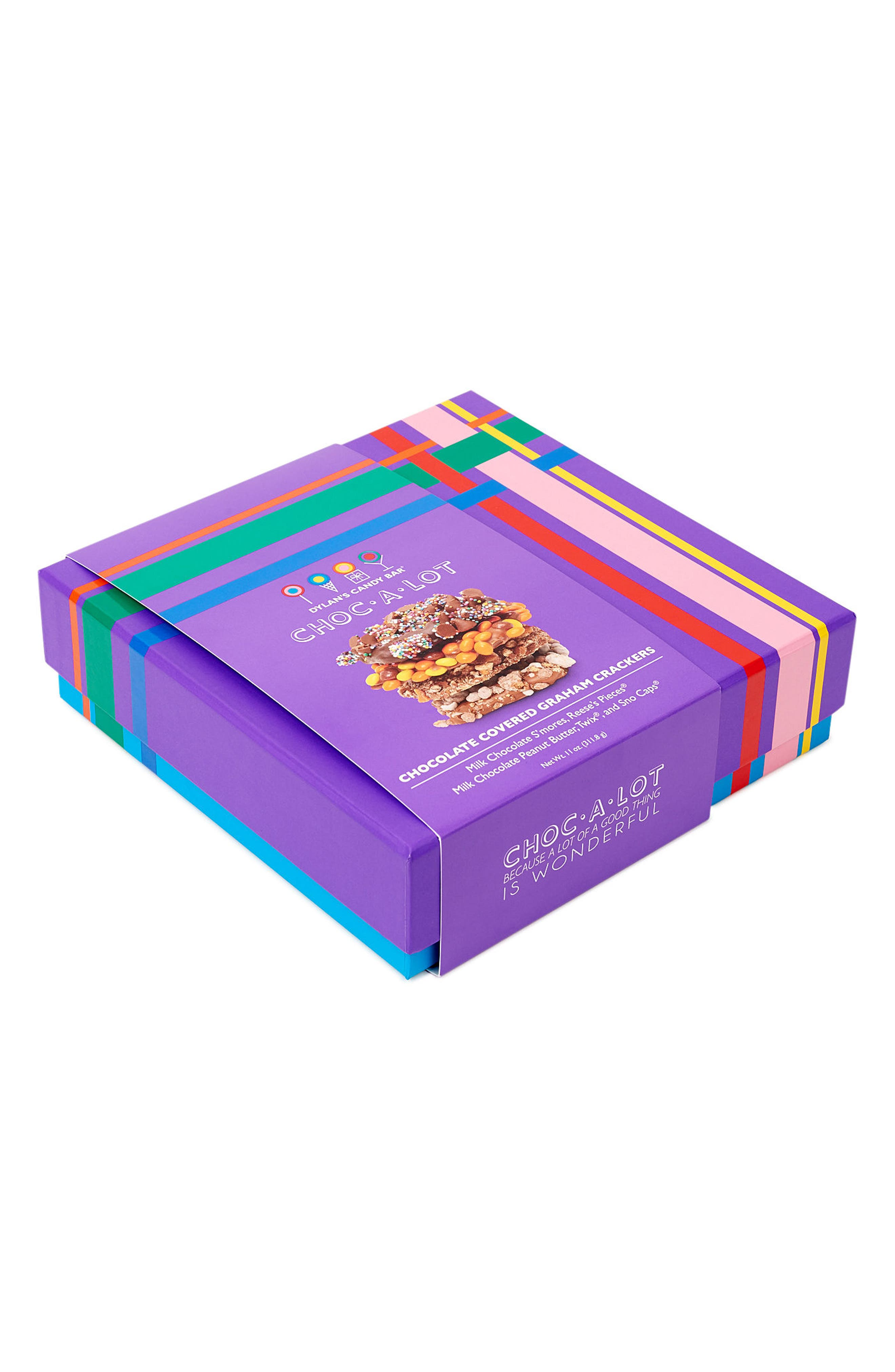 Choc-A-Lot Chocolate Covered Graham Crackers,                             Alternate thumbnail 3, color,                             Purple