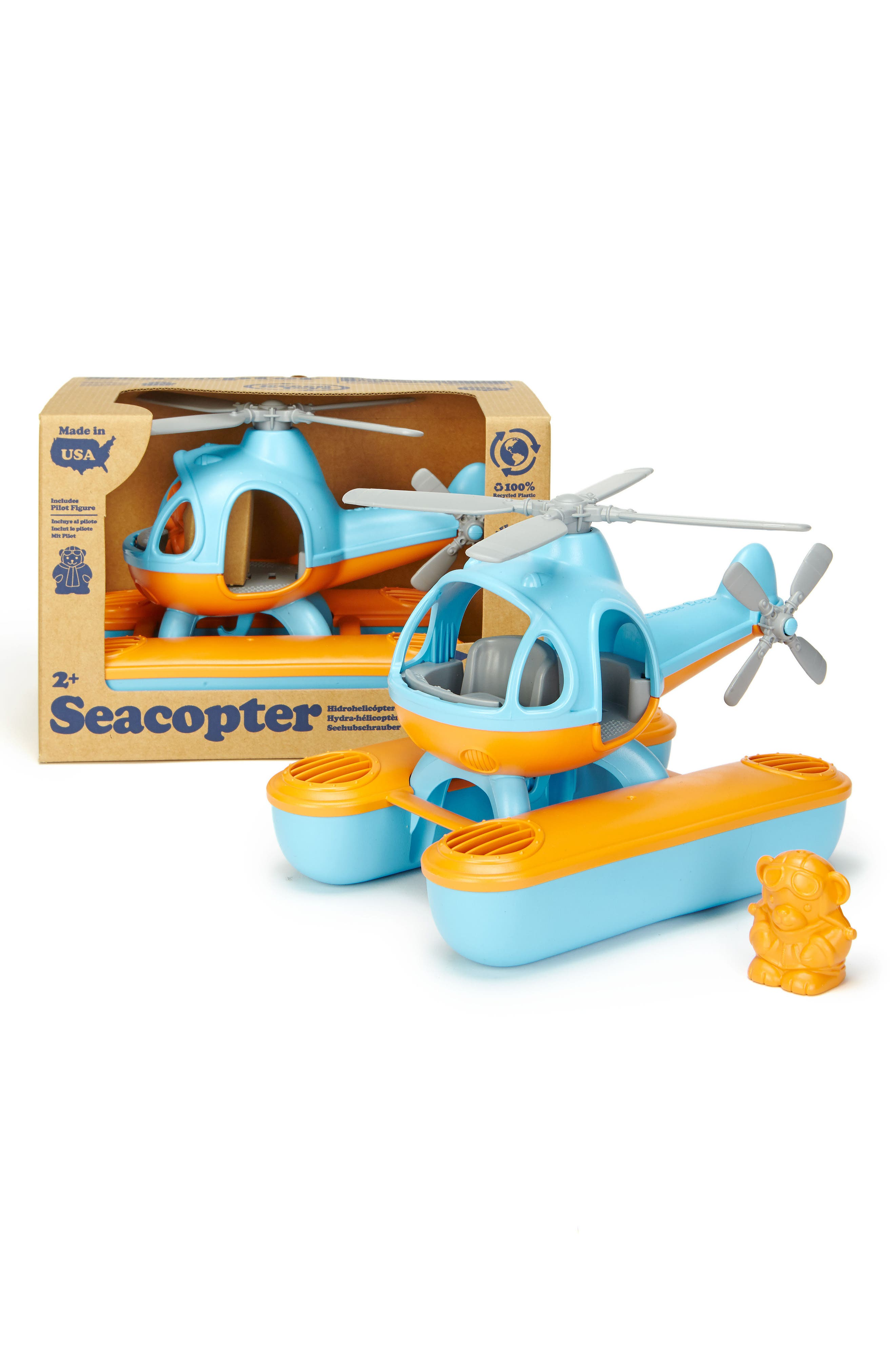 Alternate Image 5  - Green Toys Two-Piece Seacopter Toy