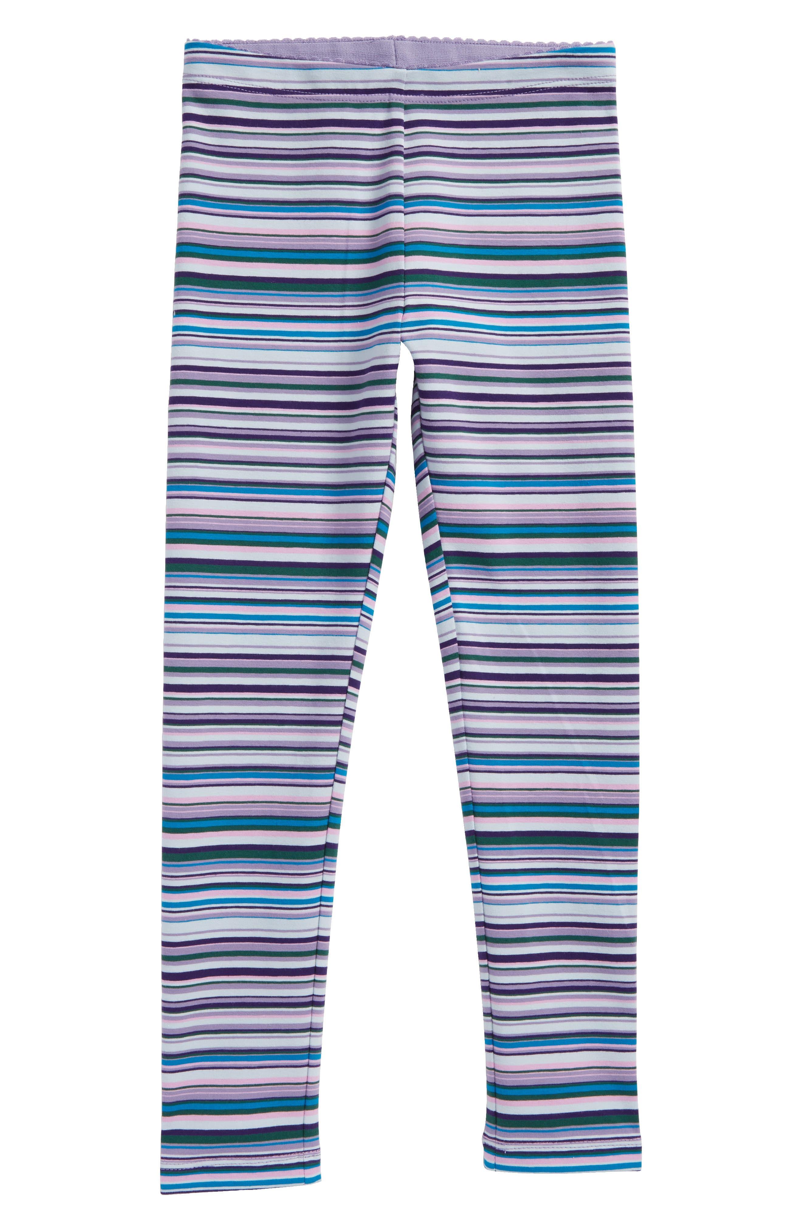 Main Image - Tea Collection Multistripe Leggings (Toddler Girls, Little Girls & Big Girls)