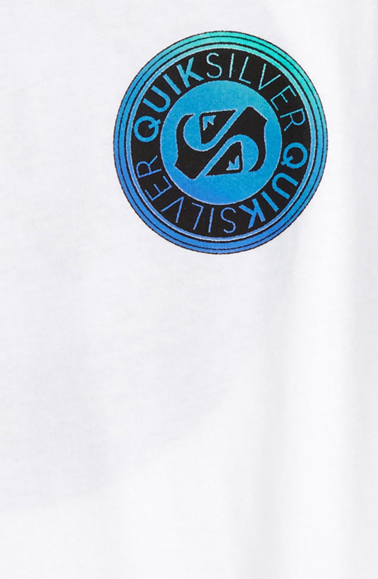 Alternate Image 3  - Quiksilver International Raglan T-Shirt (Big Boys)
