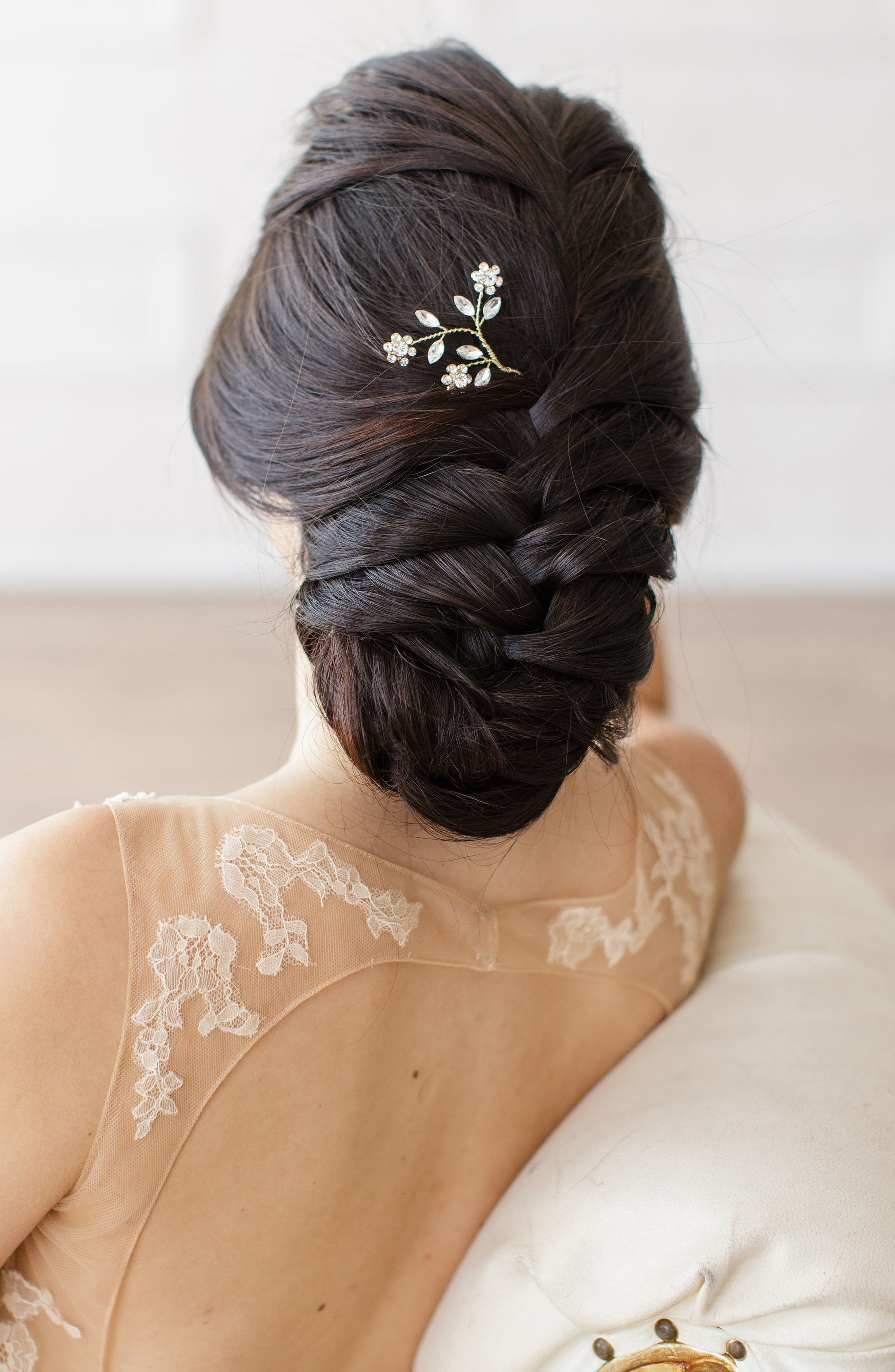 Brides & Hairpins Ameenah Floral Crystal Pin