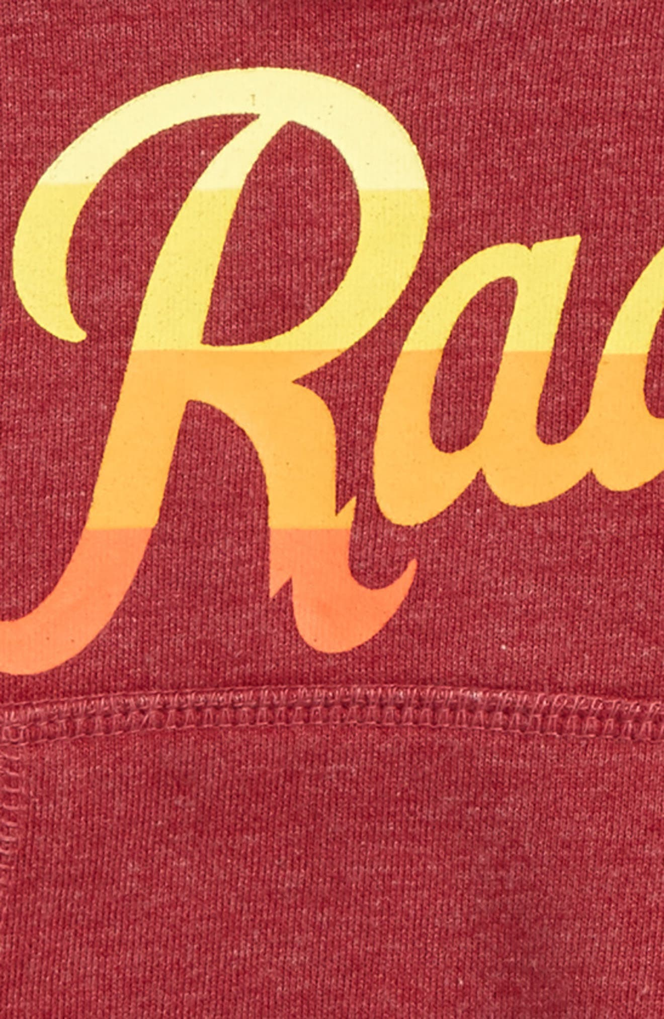 Rad Graphic Hoodie,                             Alternate thumbnail 2, color,                             Vintage Cardinal