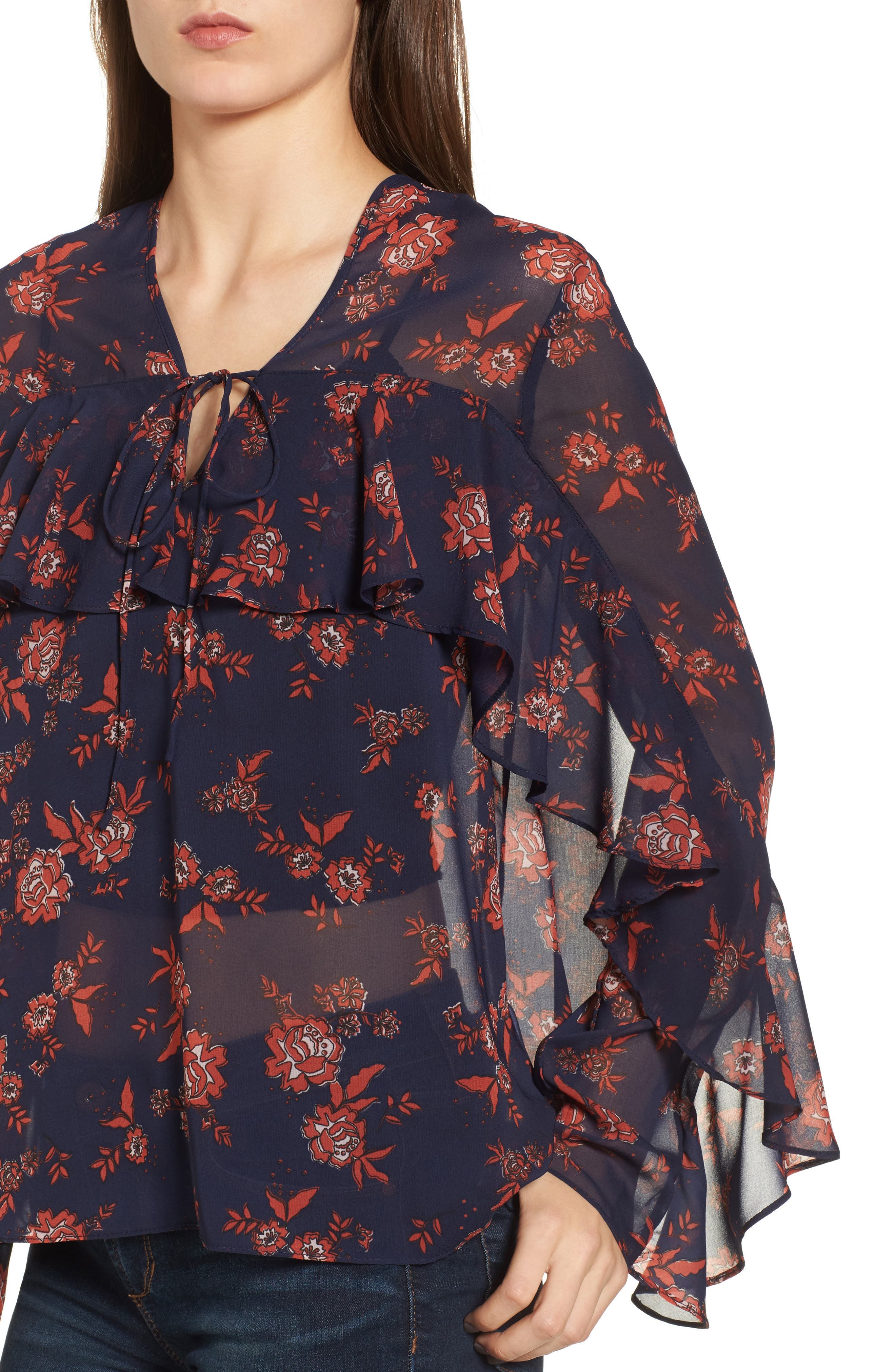 Alternate Image 4  - The Fifth Label Capital Floral Blouse
