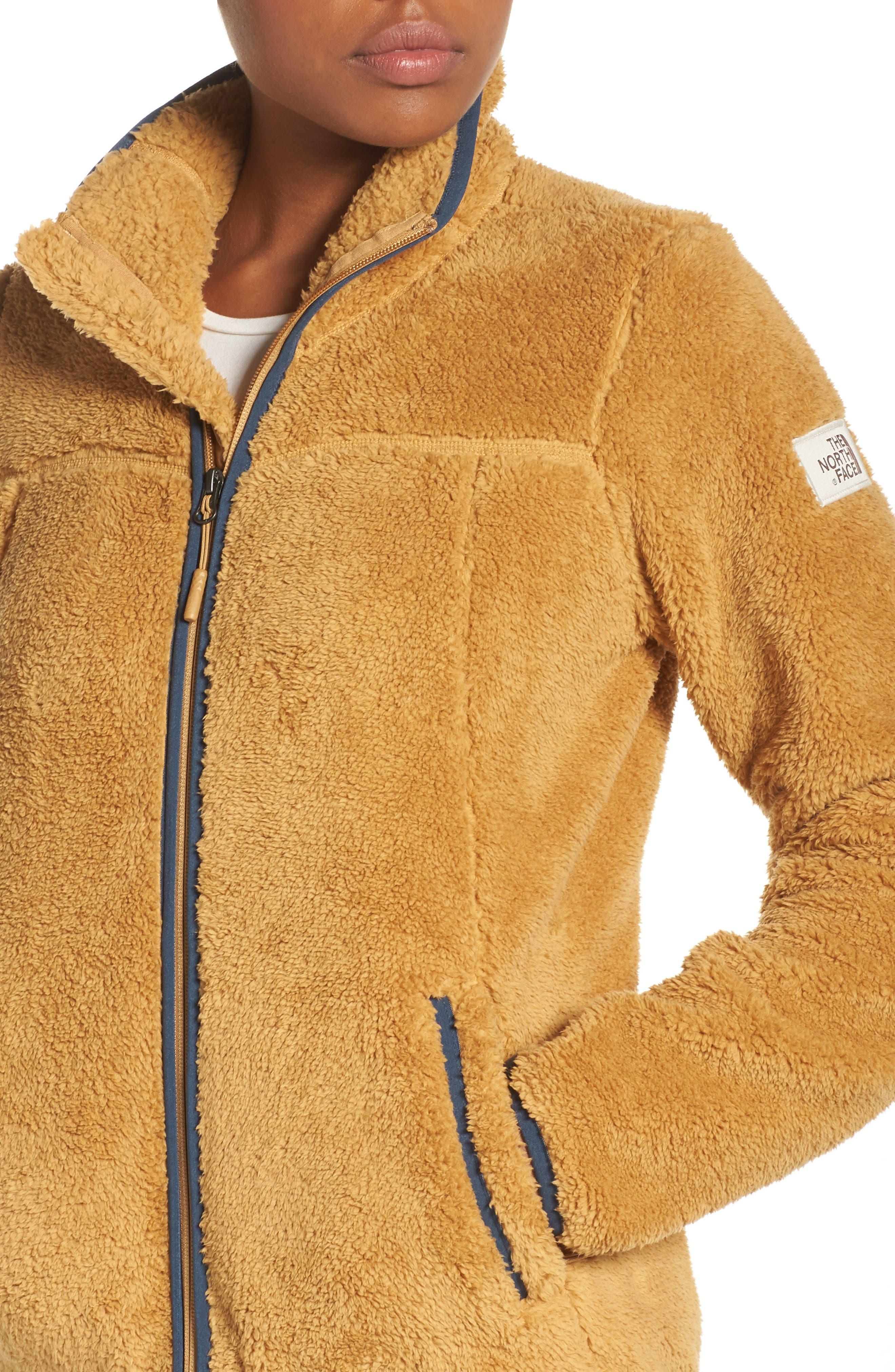 Campshire Zip Jacket,                             Alternate thumbnail 4, color,                             Biscuit Tan
