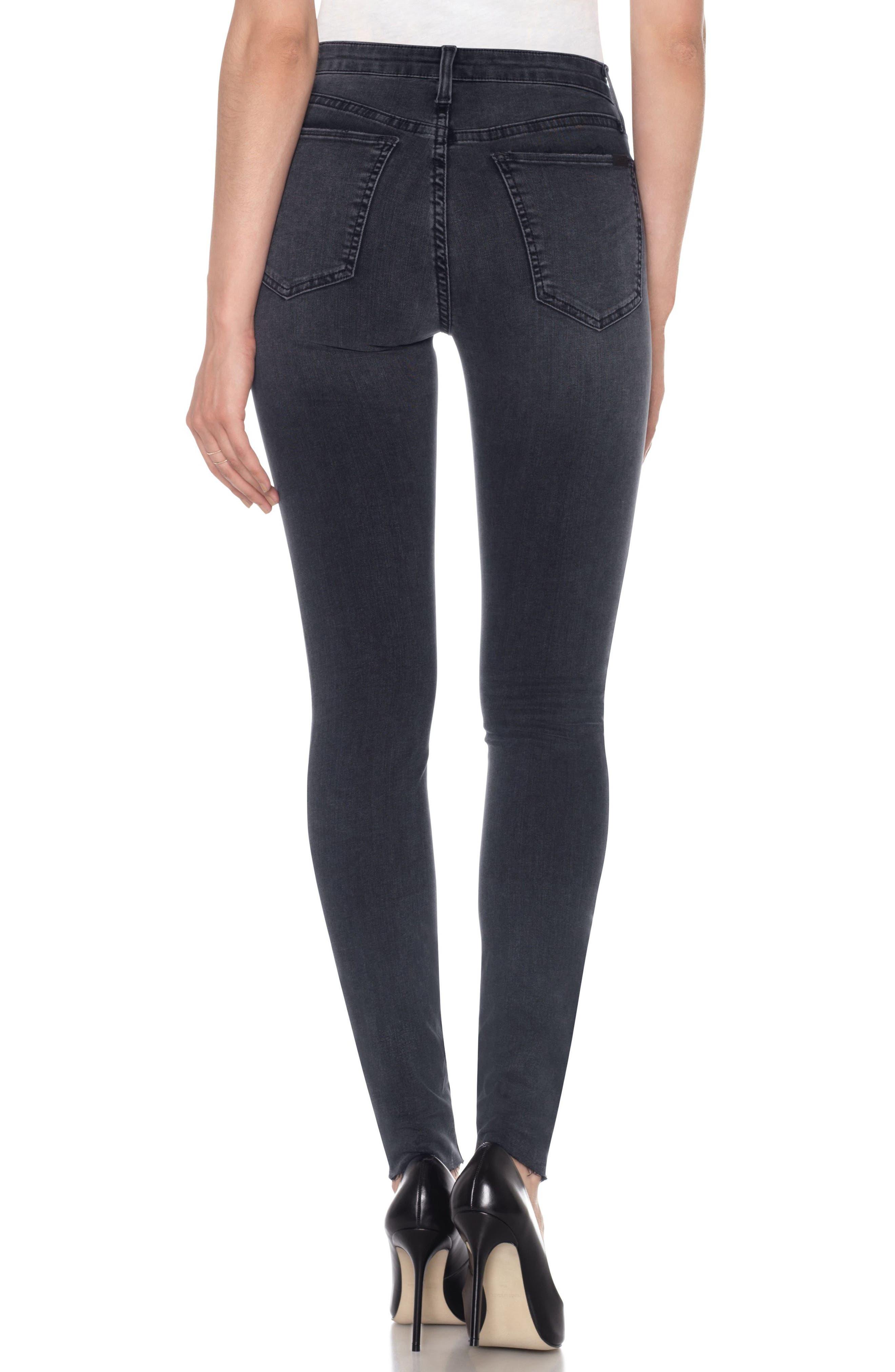 Alternate Image 2  - Joe's Flawless - Charlie High Waist Skinny Jeans (Ilana)
