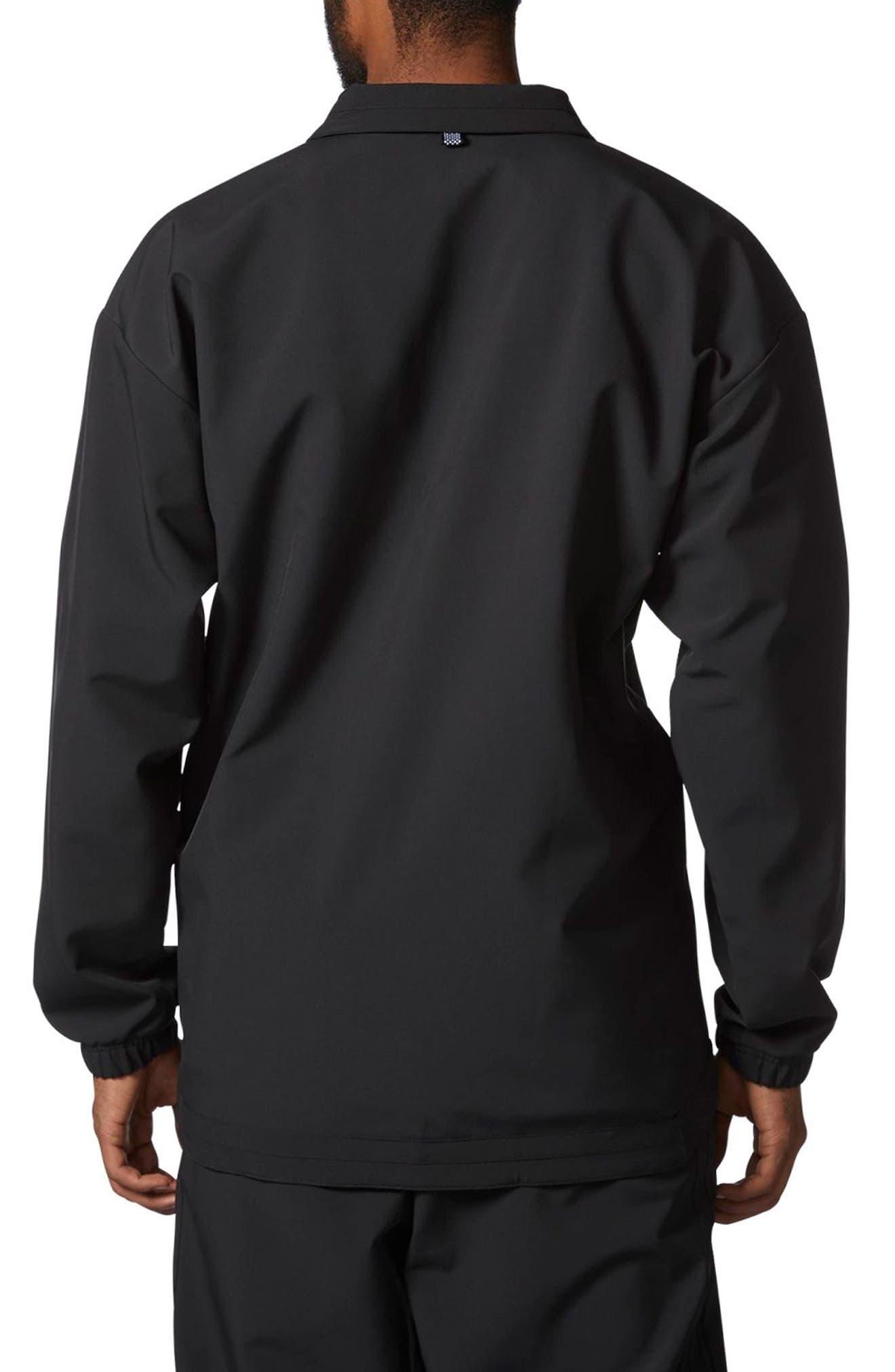 CR8 Coach's Jacket,                             Alternate thumbnail 2, color,                             Black