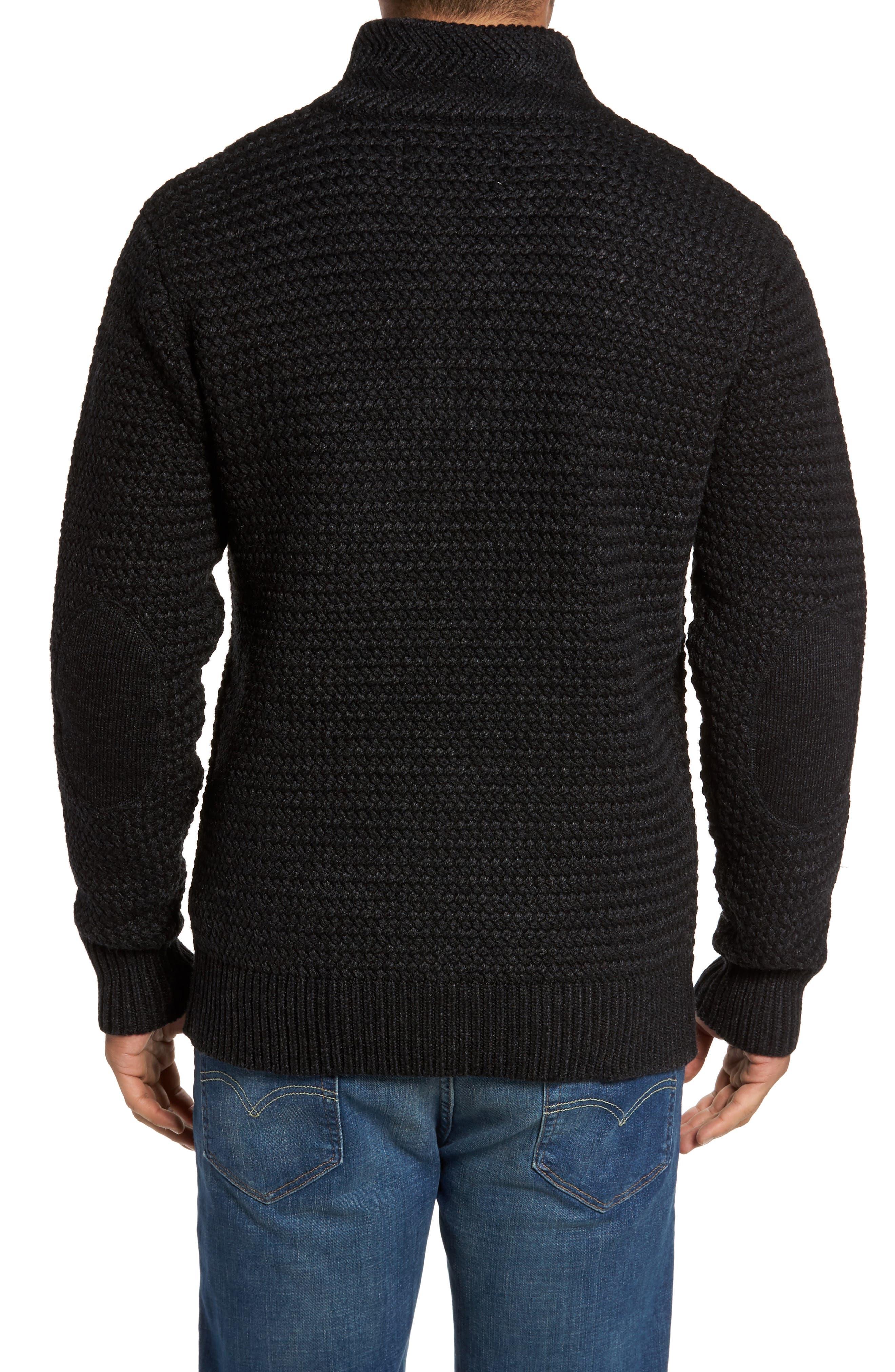 Alternate Image 2  - Schott NYC Military Henley Sweater