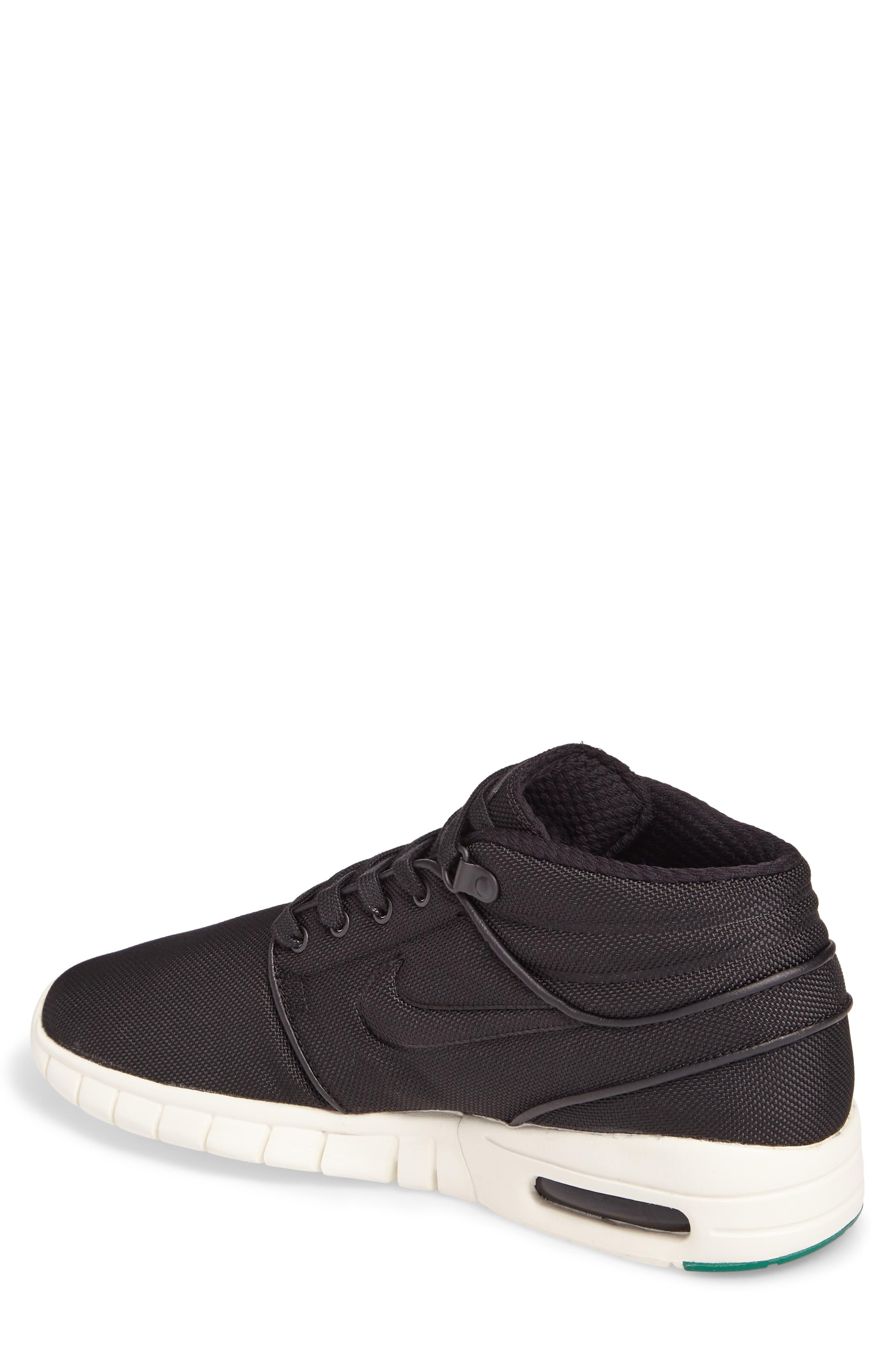 Alternate Image 2  - Nike SB Stefan Janoski Max Mid Skate Shoe (Men)
