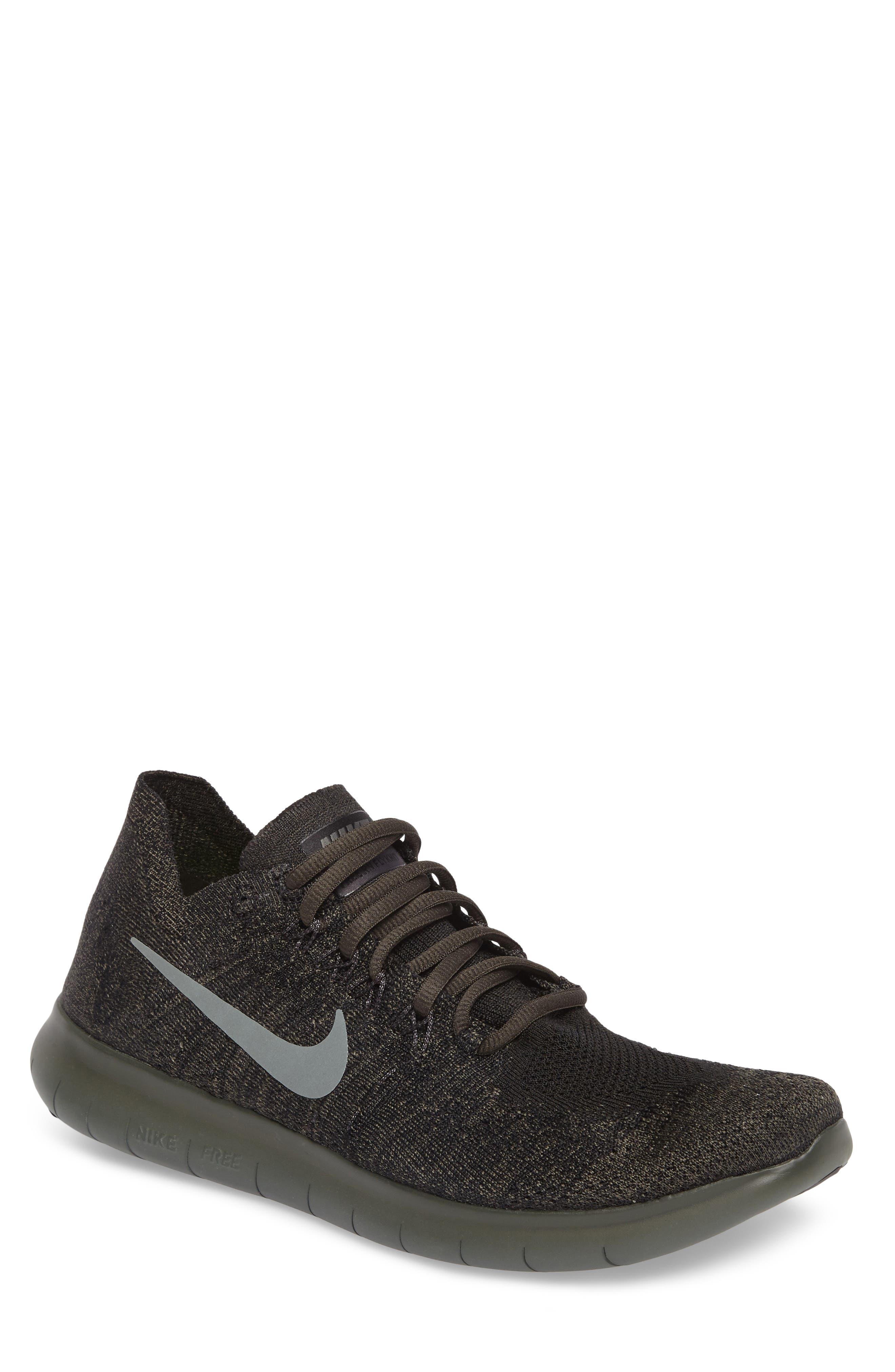 Alternate Image 1 Selected - Nike Free Run Flyknit 2017 Running Shoe (Men)