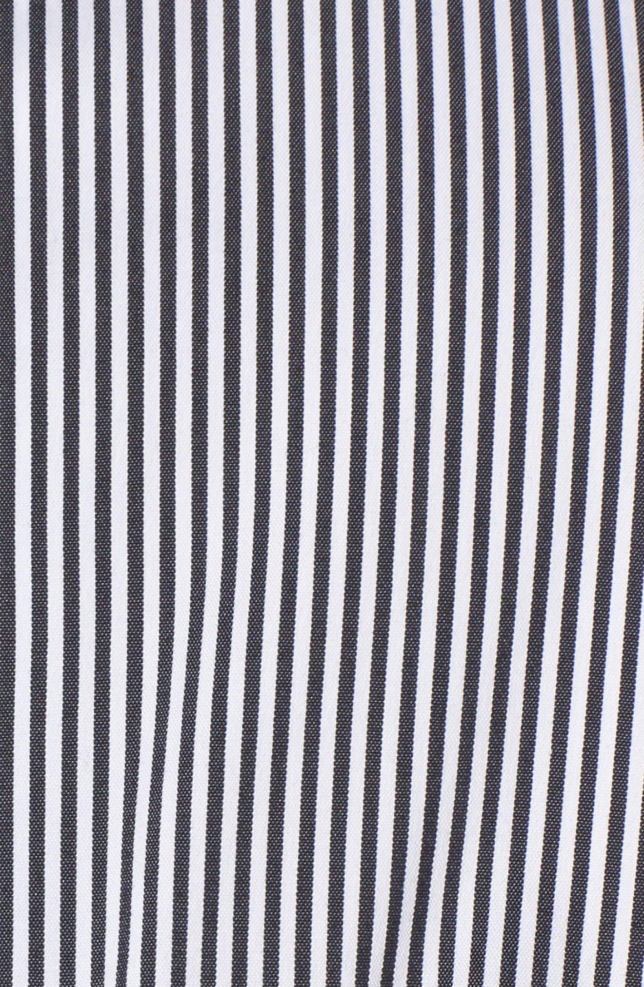 Alternate Image 5  - Halogen® Belted Poplin Shirt (Regular & Petite)