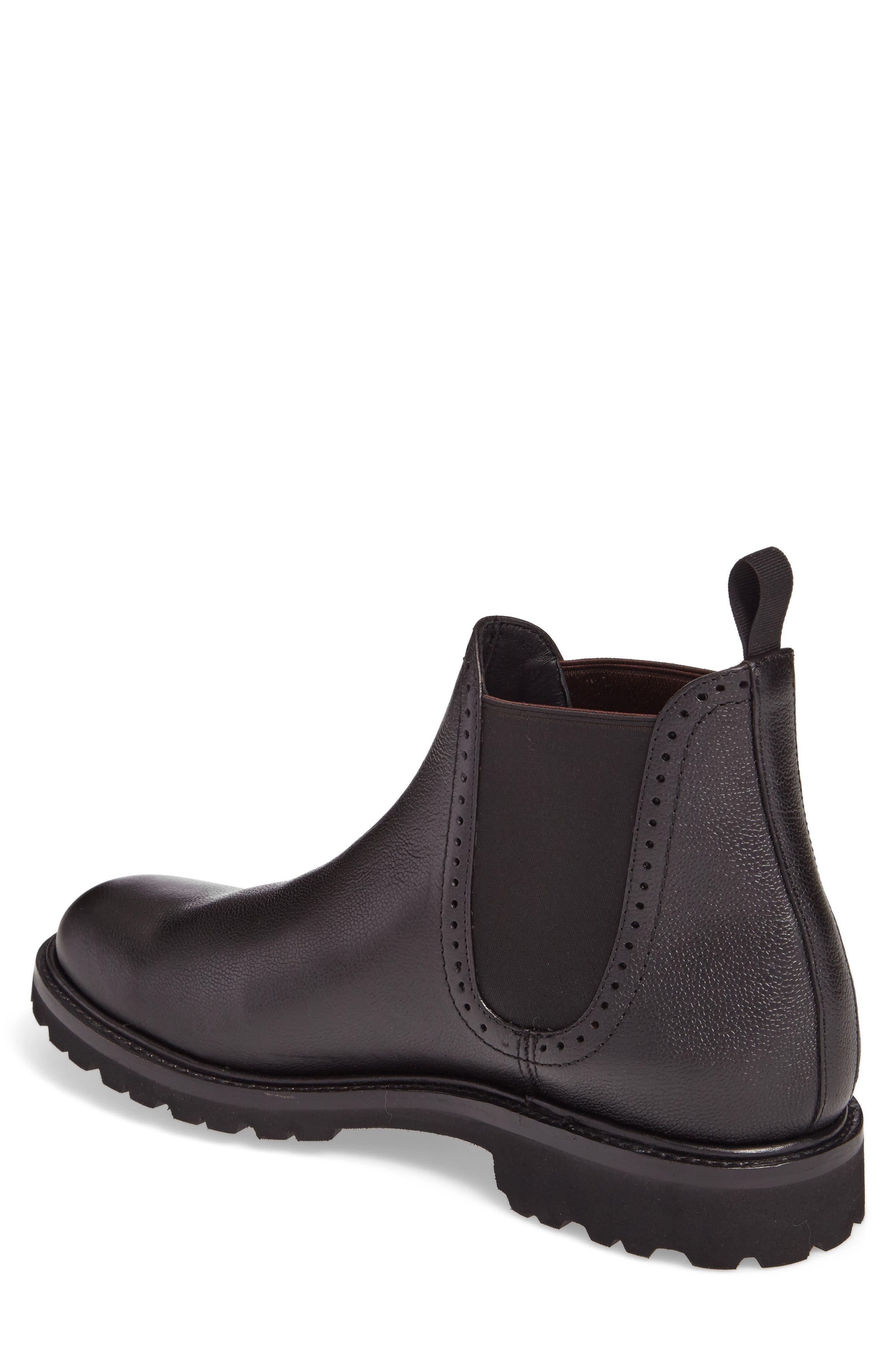 Cromwell Chelsea Boot,                             Alternate thumbnail 2, color,                             Black