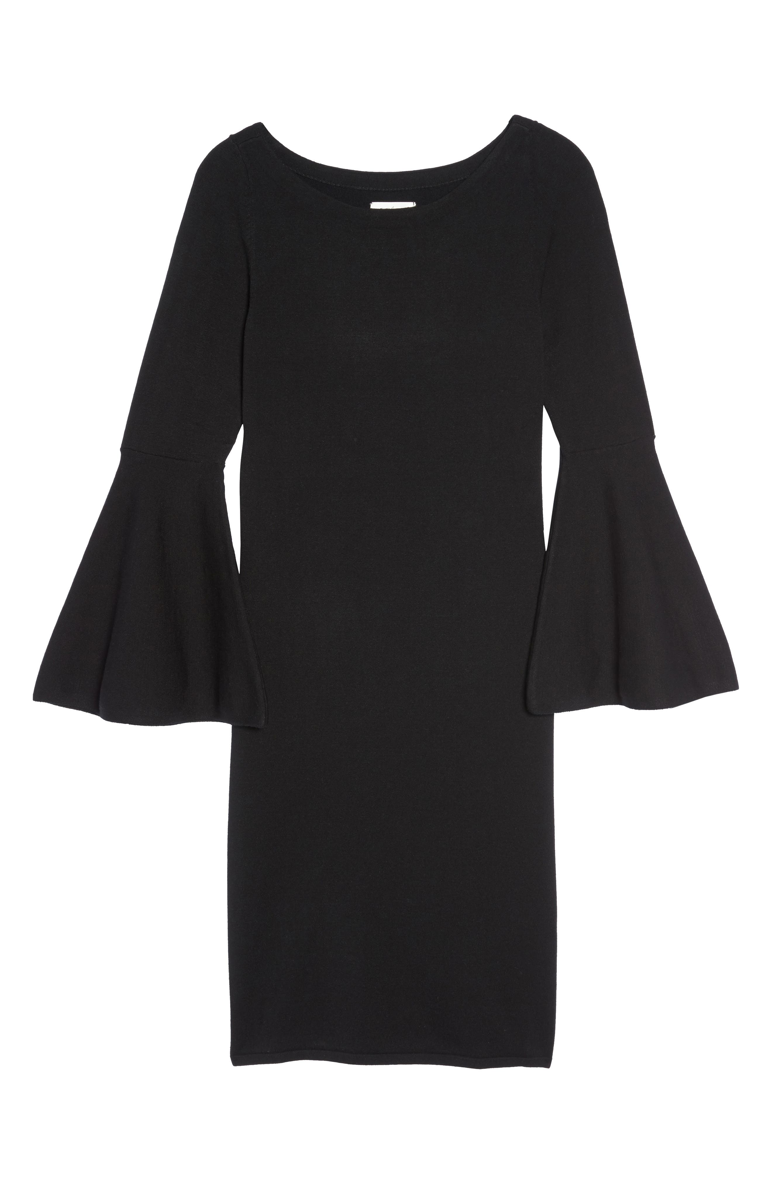 Alternate Image 6  - Eliza J Bell Sleeve Dress