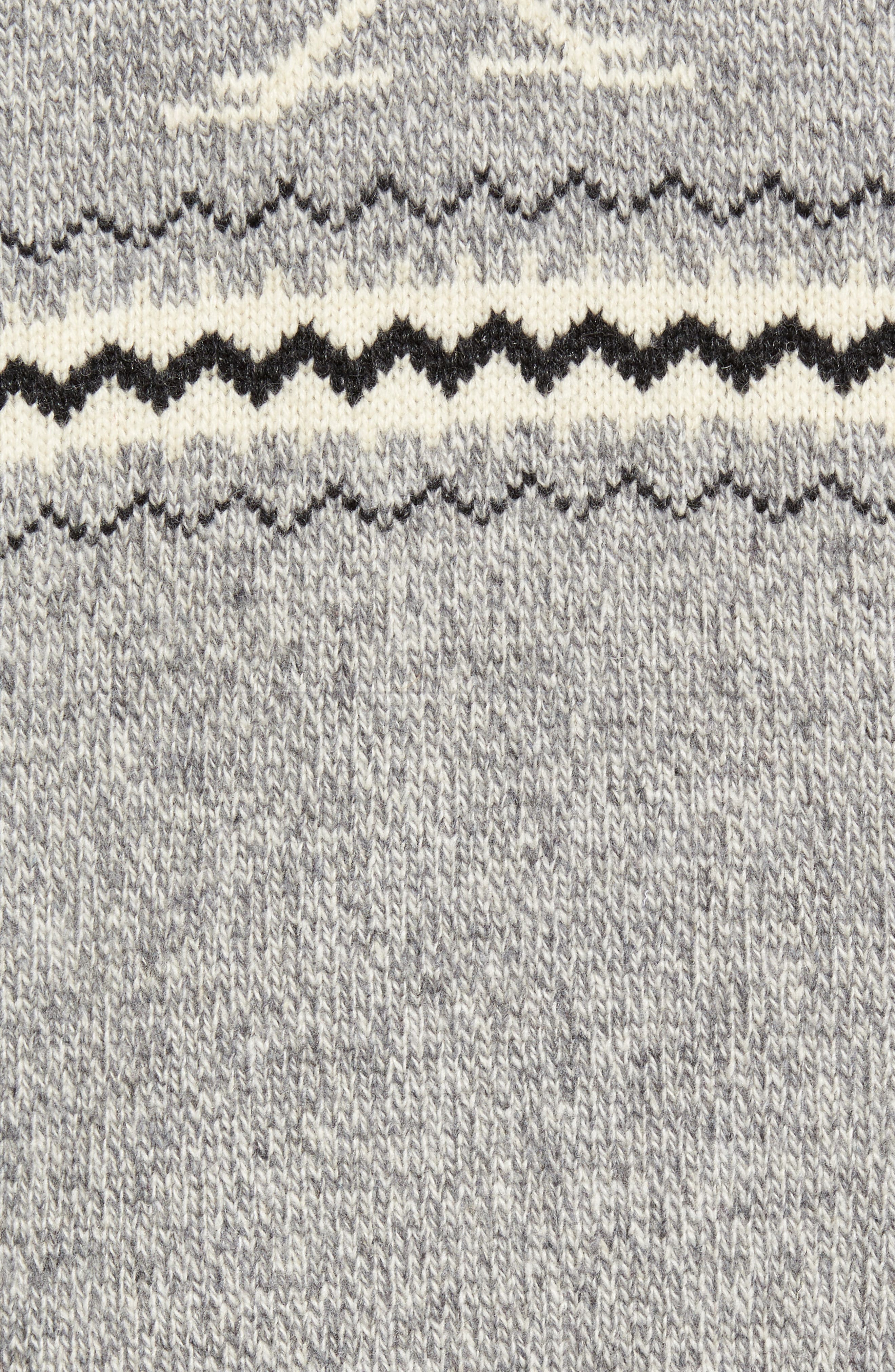 Road Runner Wool Blend Cardigan,                             Alternate thumbnail 5, color,                             Heather Grey