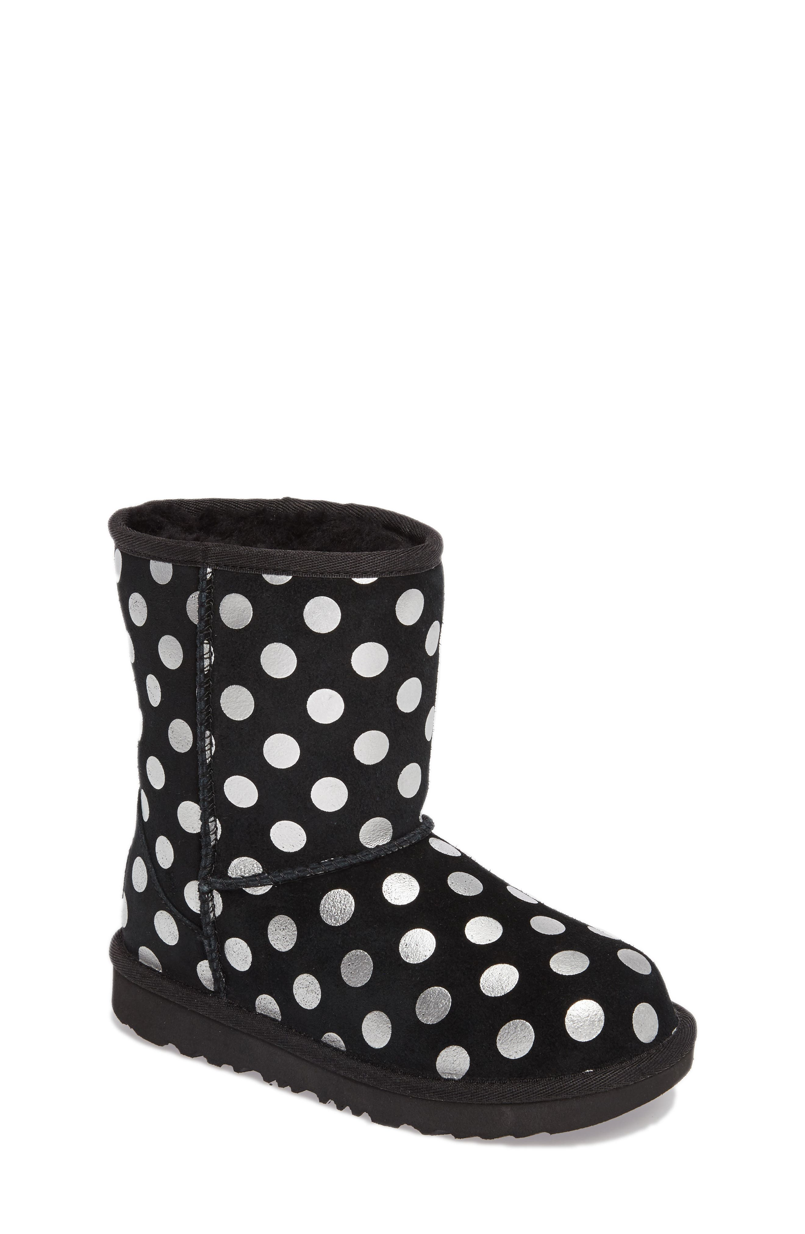 UGG Classic Metallic Dot Boot (Walker, Toddler, Little Kid & Big Kid)