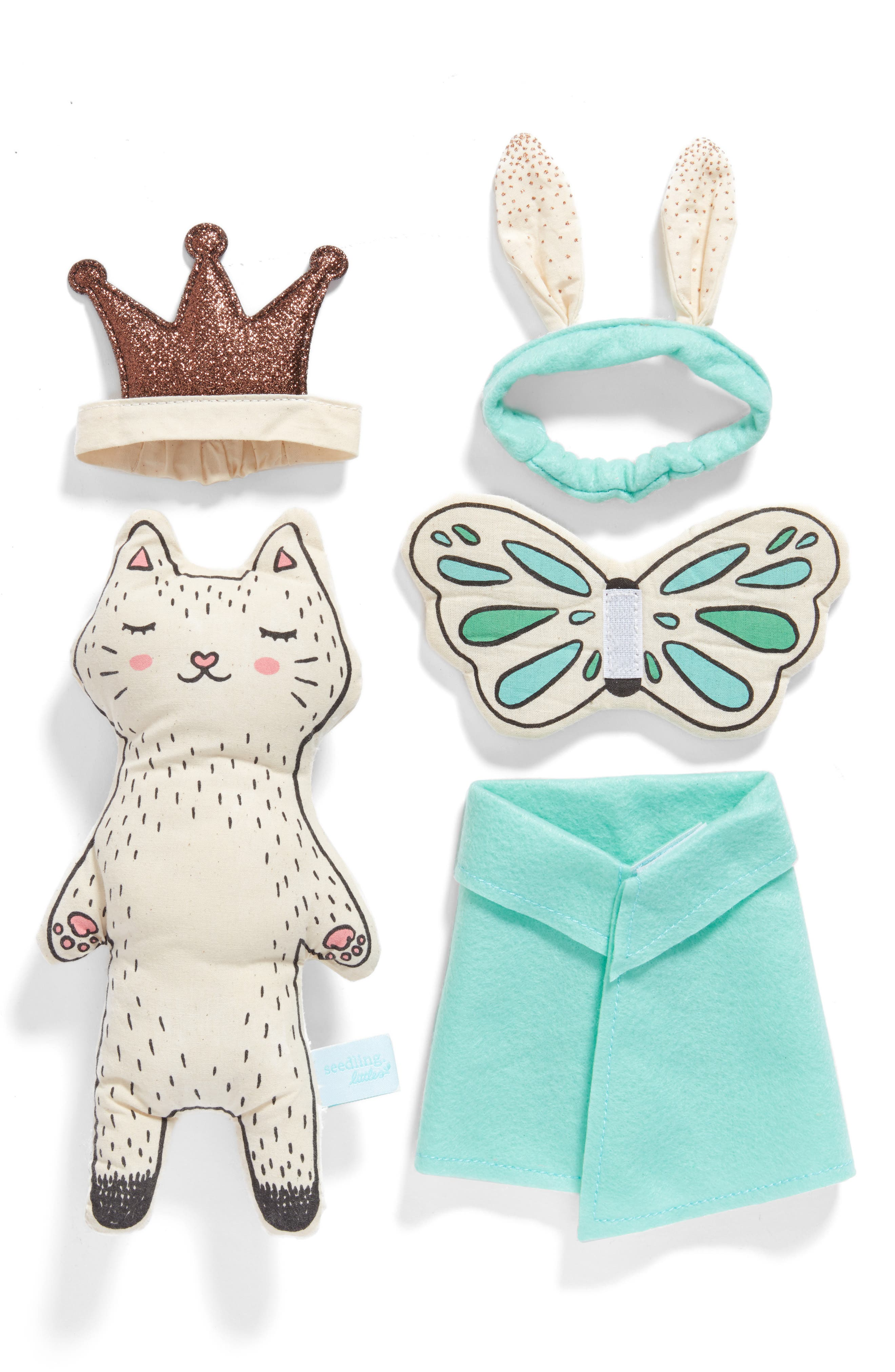 seedling Royally Cute Kitty Playset