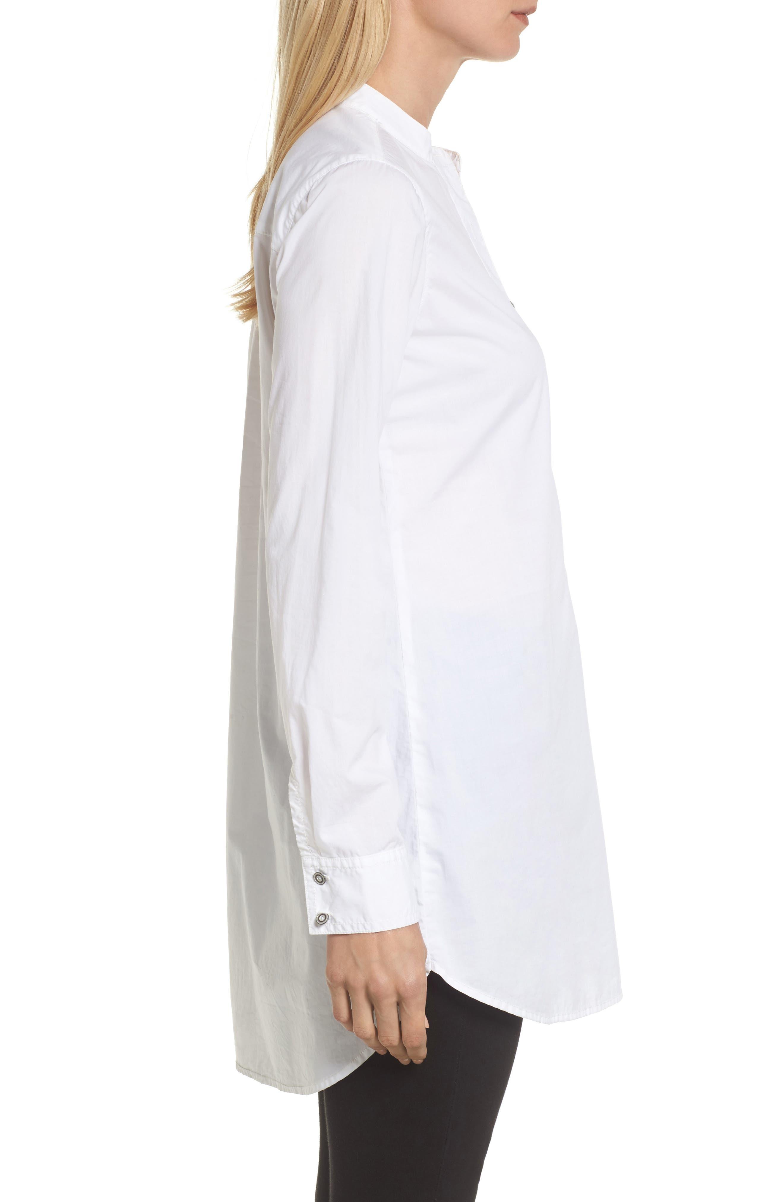 Alternate Image 3  - Caslon® Popover Tunic Shirt (Regular & Petite)
